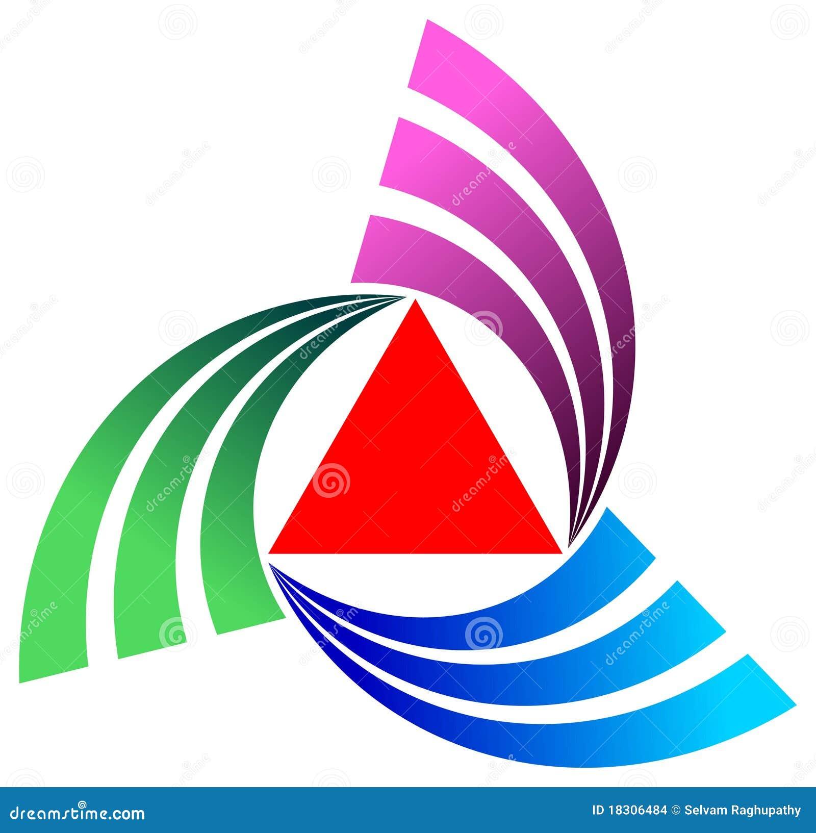 Triángulo con las curvas