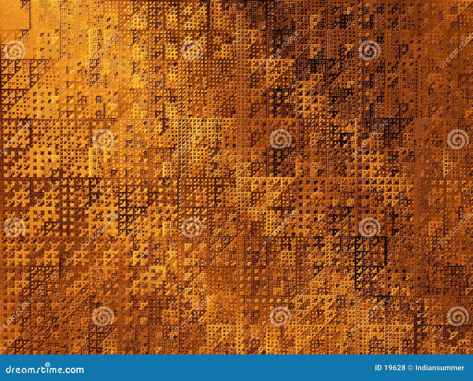 Triángulos abstractos del fondo II