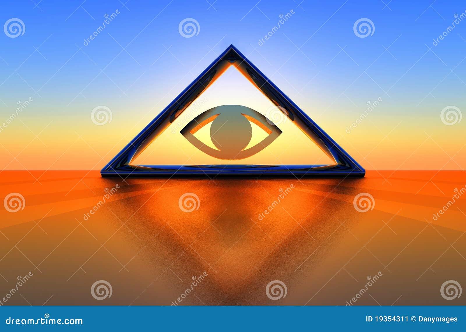 Triângulo e olho