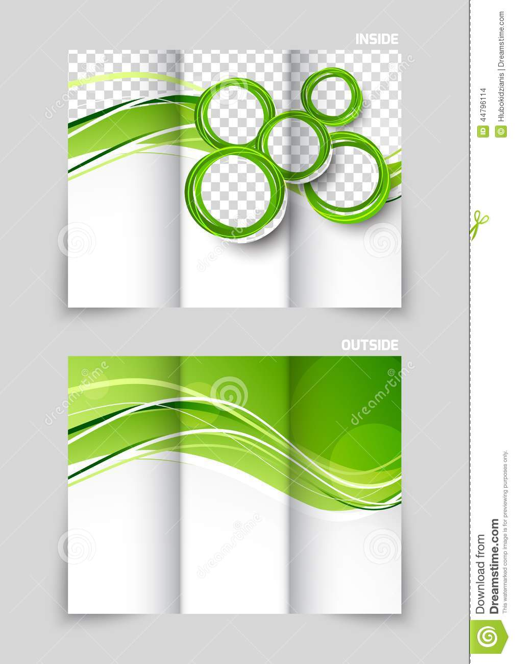 Trifold Brochure Template Design Stock Vector Illustration Of - Tri fold brochure templates free download
