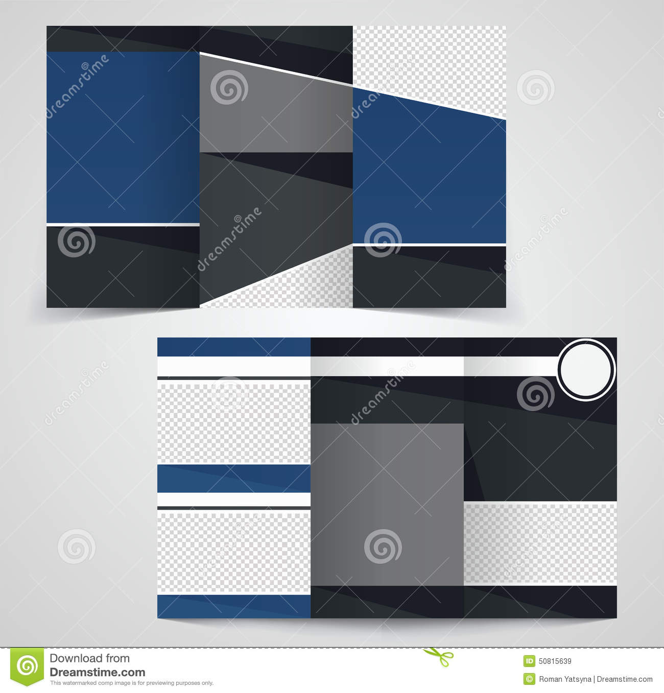 Tri fold business brochure template two sided template for 6 sided brochure template