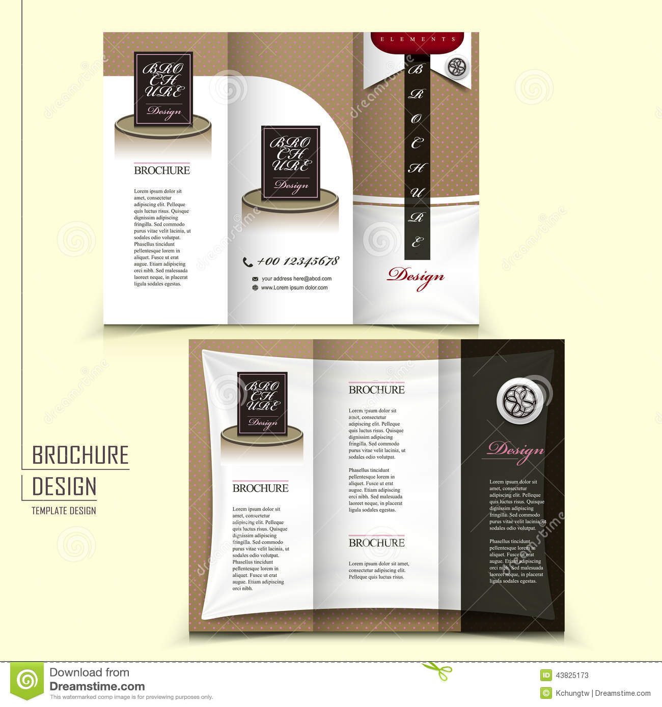 tri fold template brochure for restaurant advertising. Black Bedroom Furniture Sets. Home Design Ideas
