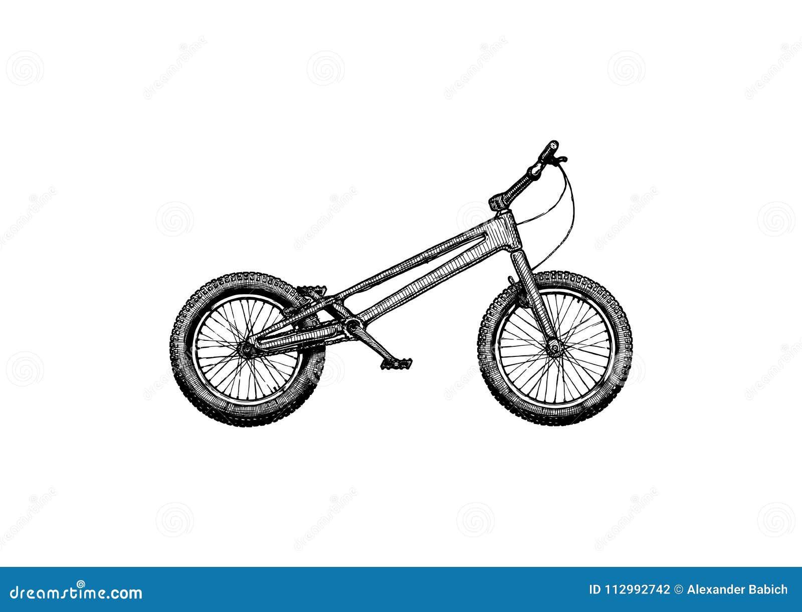 Trial bike, Mod