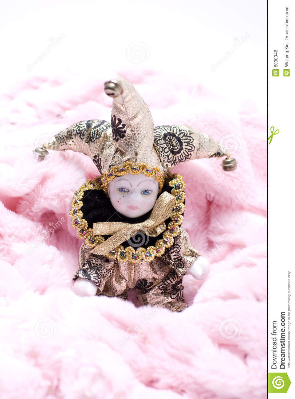 Triangel Doll Stock Photo Cartoondealer Com 8030346