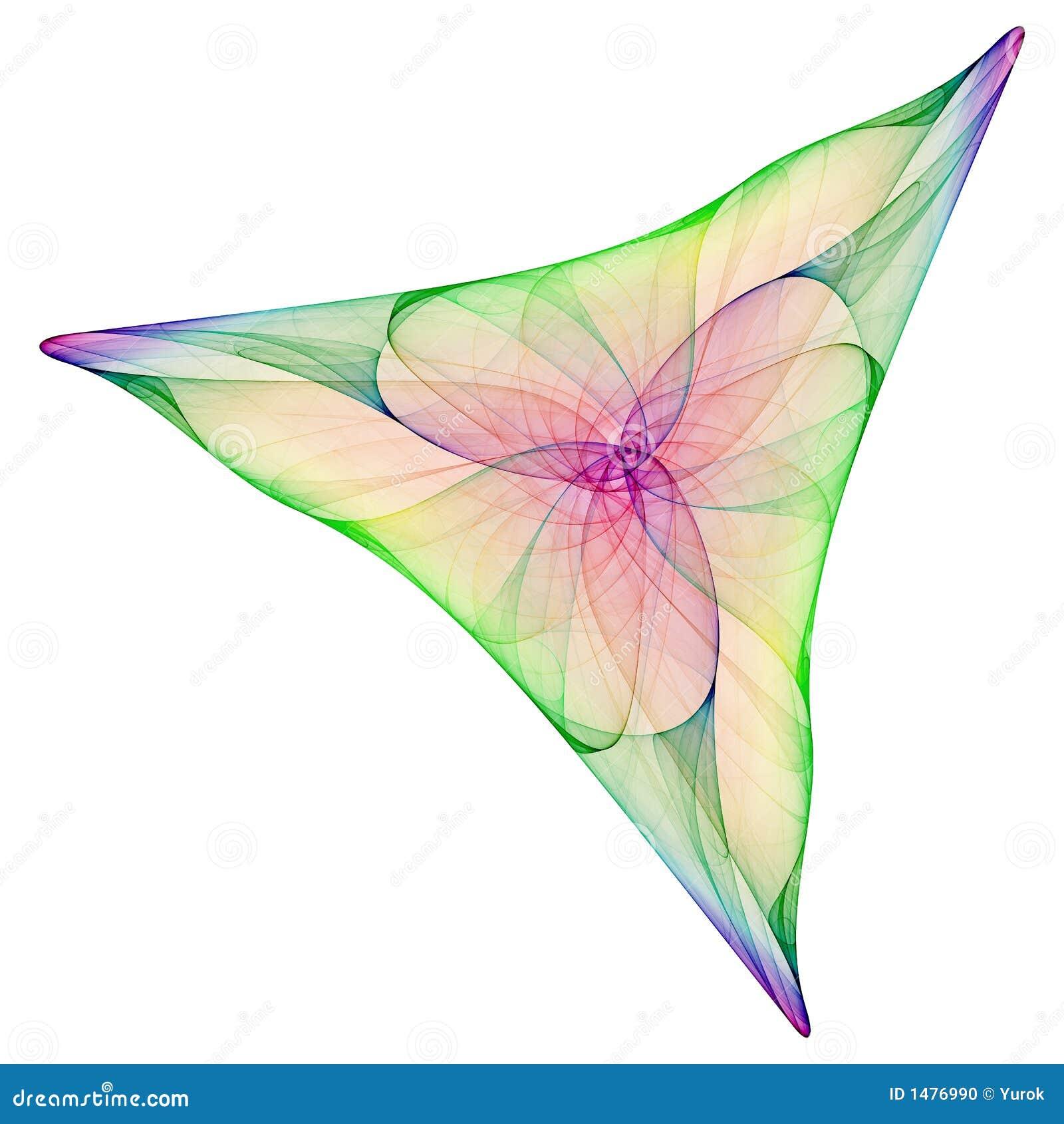 Triangle abstraite