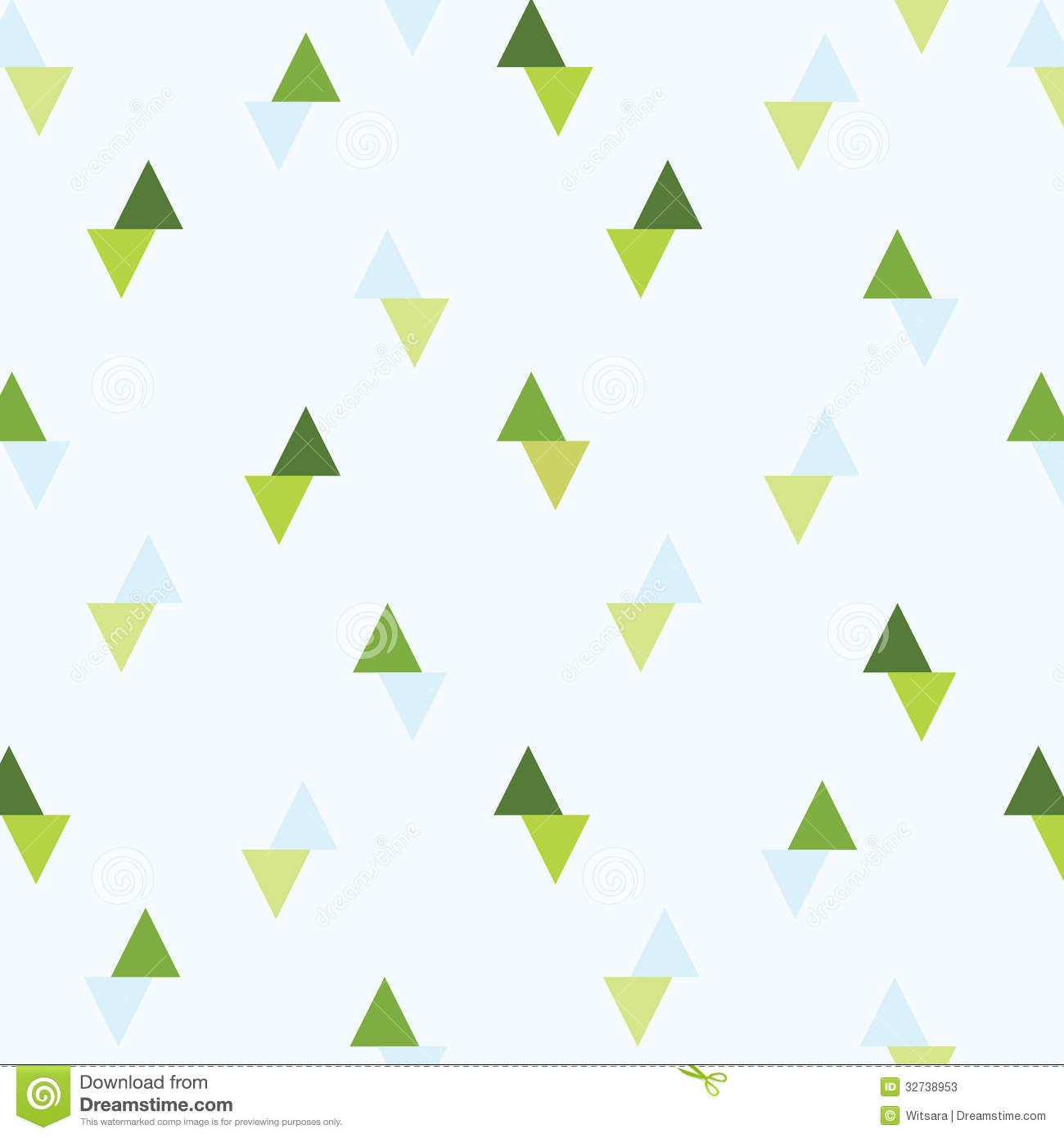 Triangle background pattern stock photos image 32738953 for Light green blue color