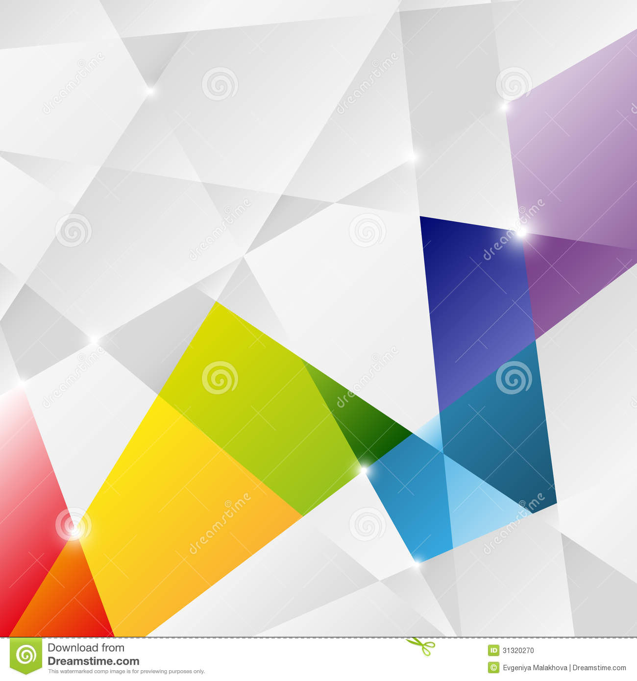 triangle background stock vector  image of background