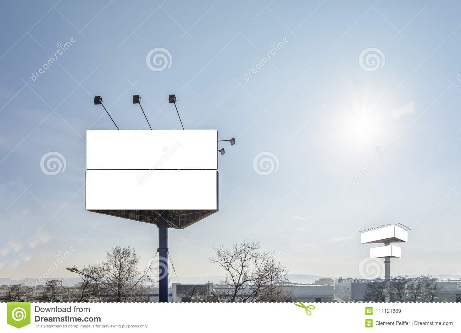 Triangle billboard