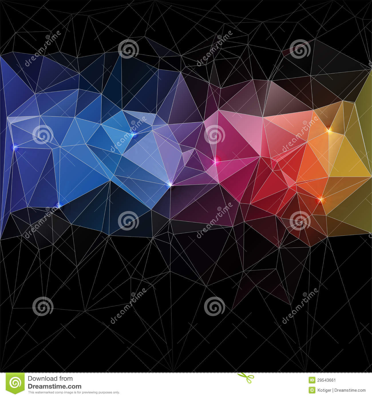 Triangle concept design mosaic stock image image 29543661 for Triangle concept architecture