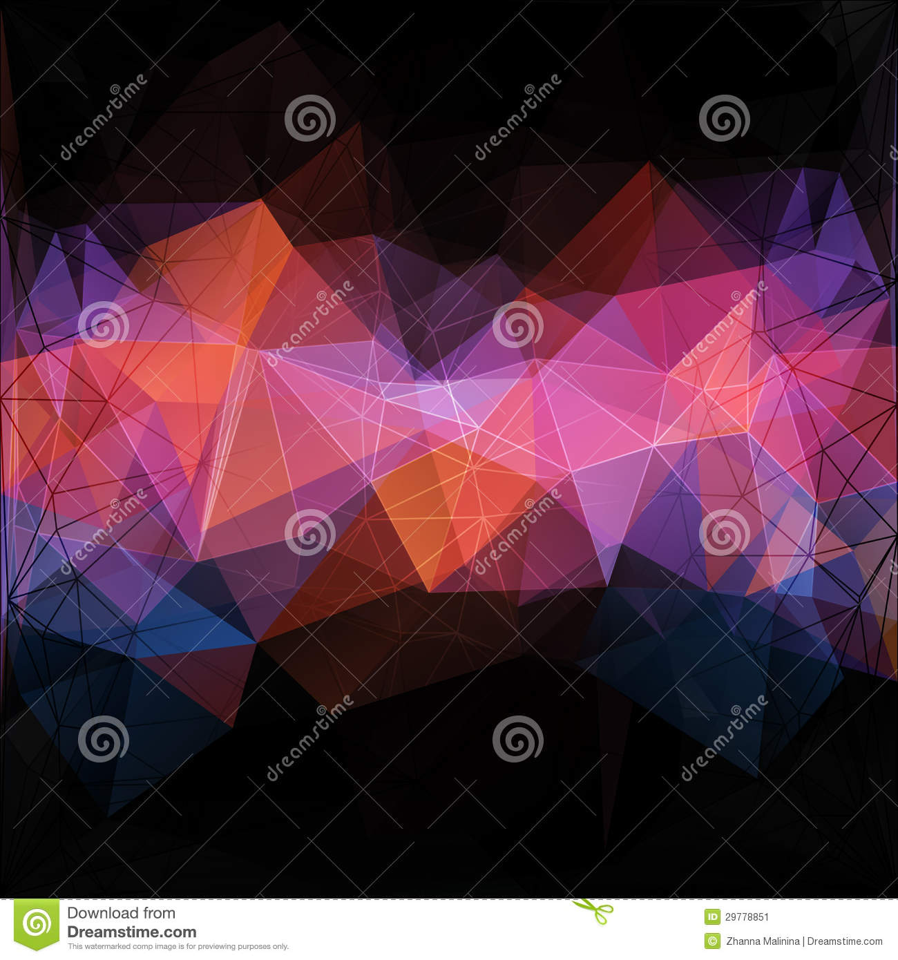 Triangle concept design mosaic stock image image 29778851 for Triangle concept architecture