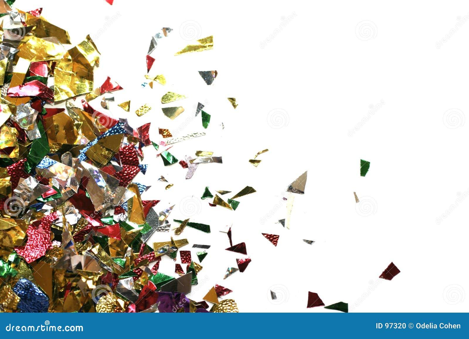 Triangle de confettis
