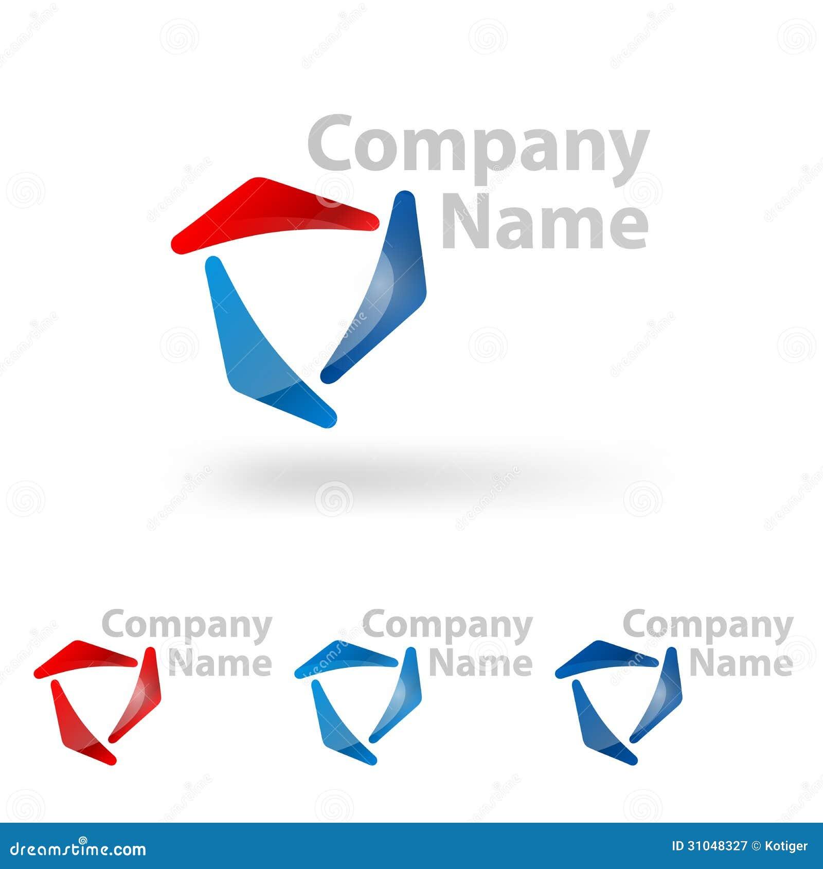 Triangle Logo Company Name Design Royalty Free Stock Photography ...