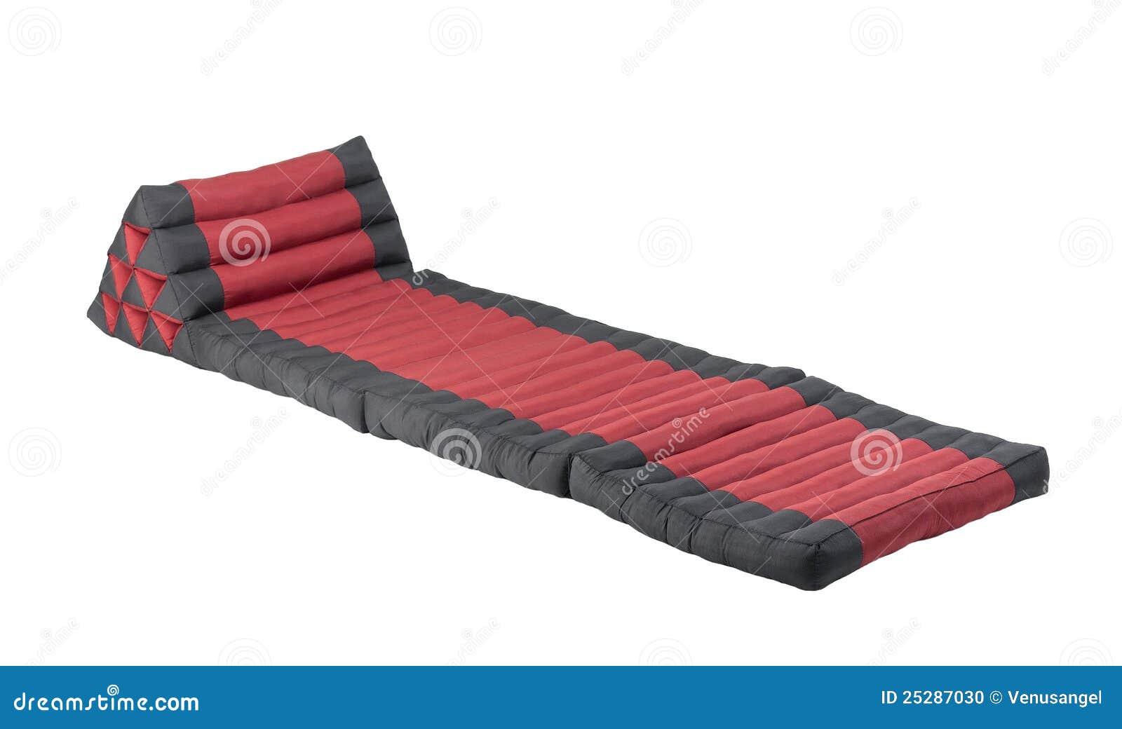 Triangle pillow with mattress stock photo image 25287030 - Colchon de futon ...