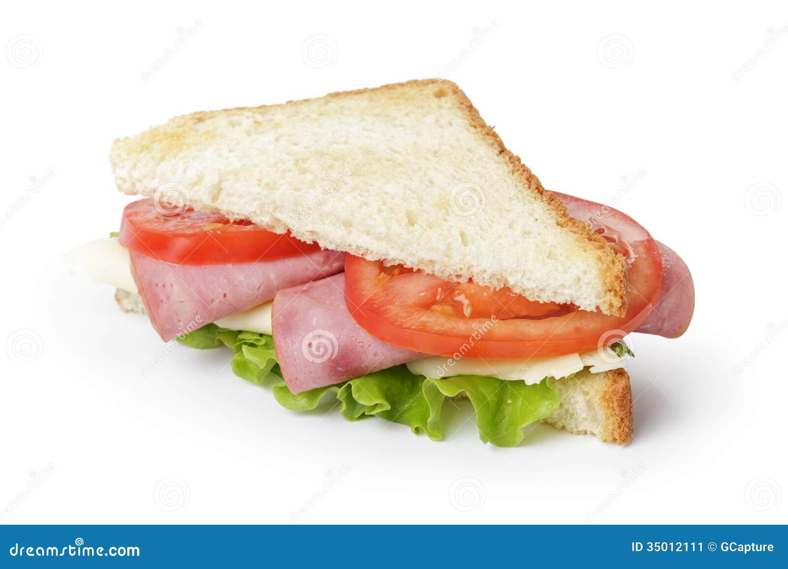 Triangle sandwich with...