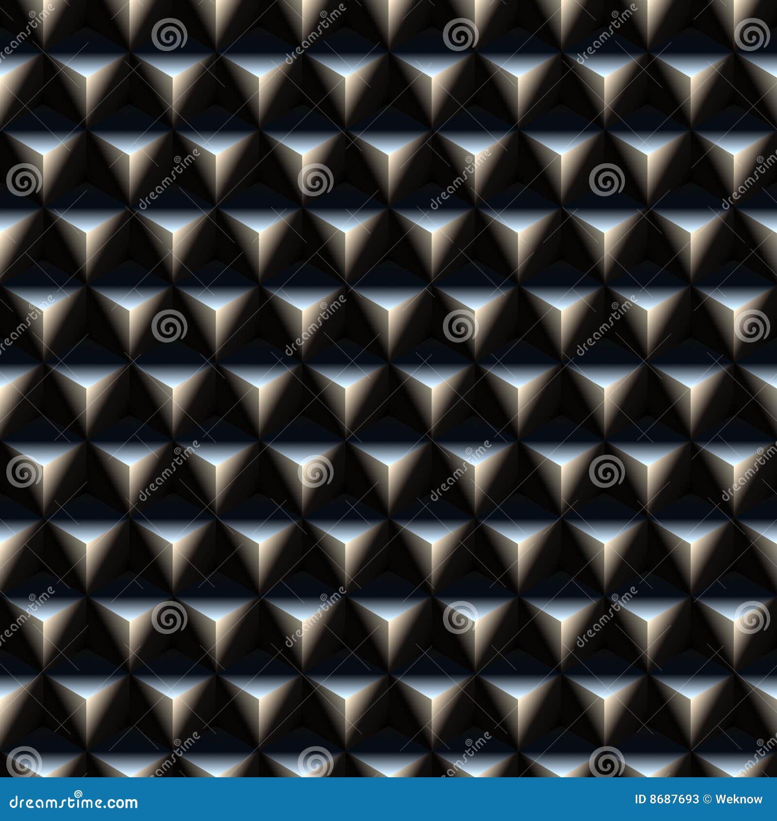 triangle spikes pattern stock illustration illustration