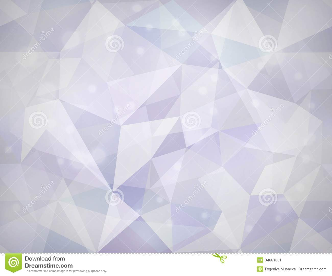 Triangle Texture. Vector Seamless Background. Stock Image - Image: 34881861