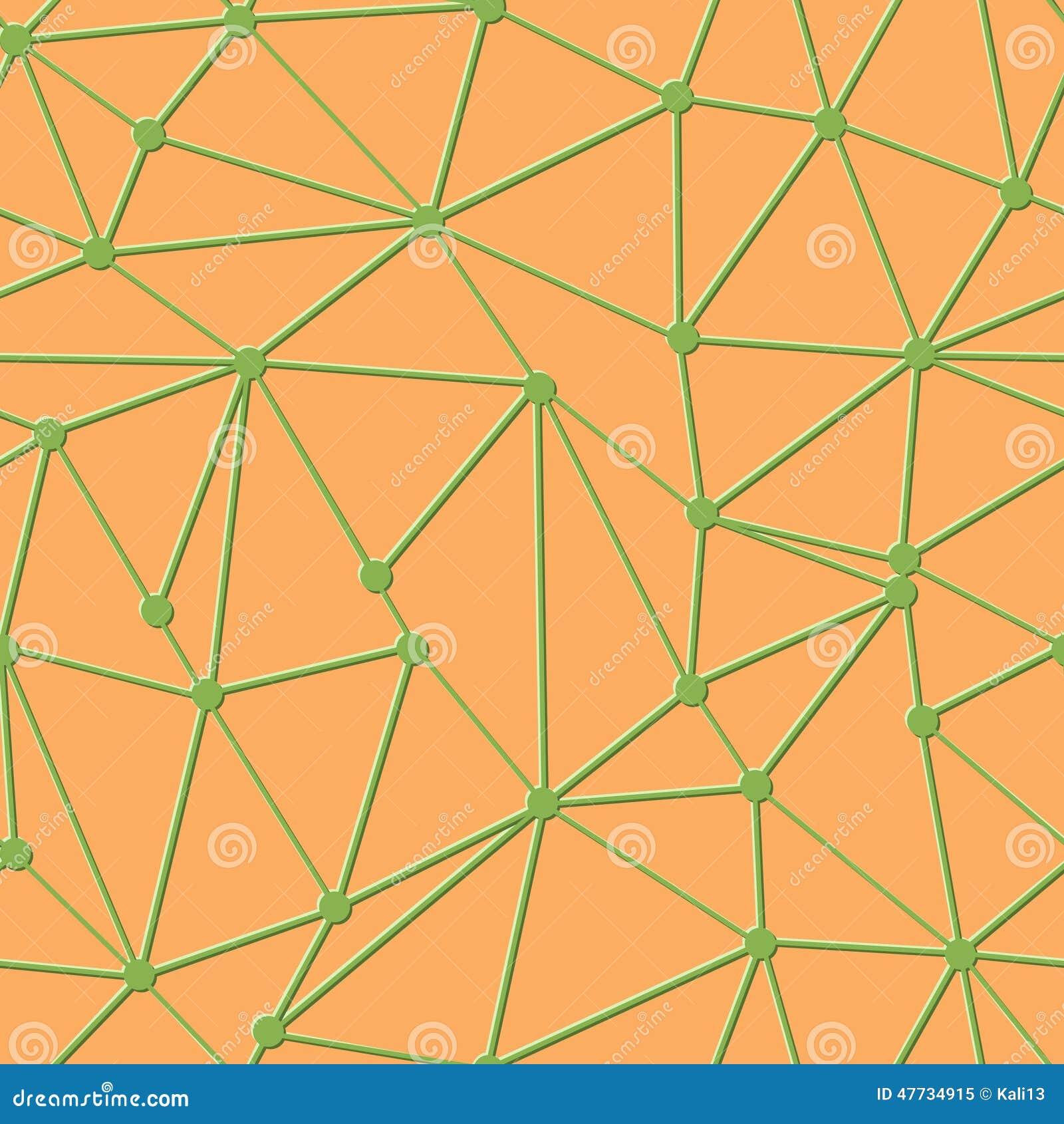 Triangle Geometric Pattern Vector