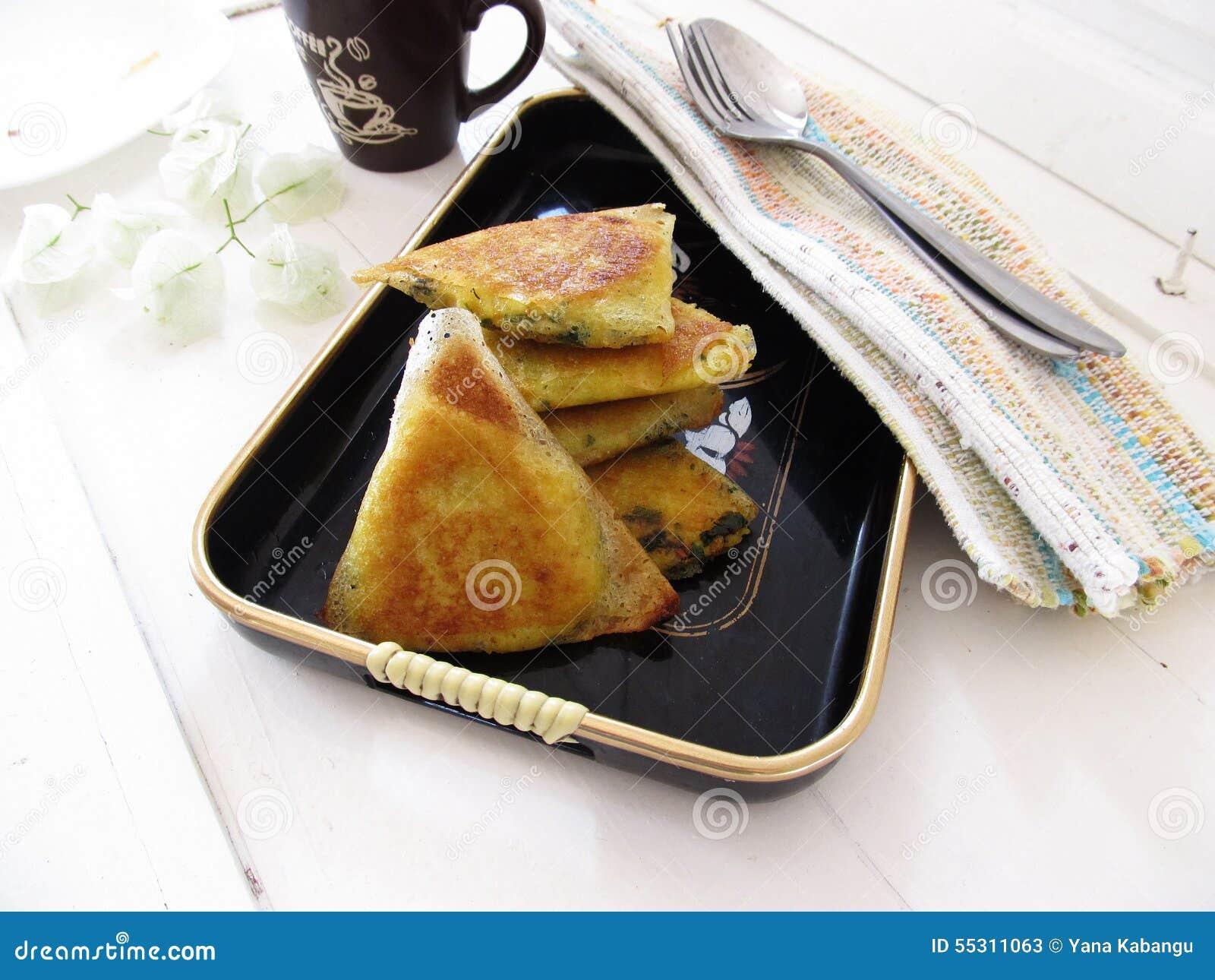 Triangles de pâtisserie de Filo