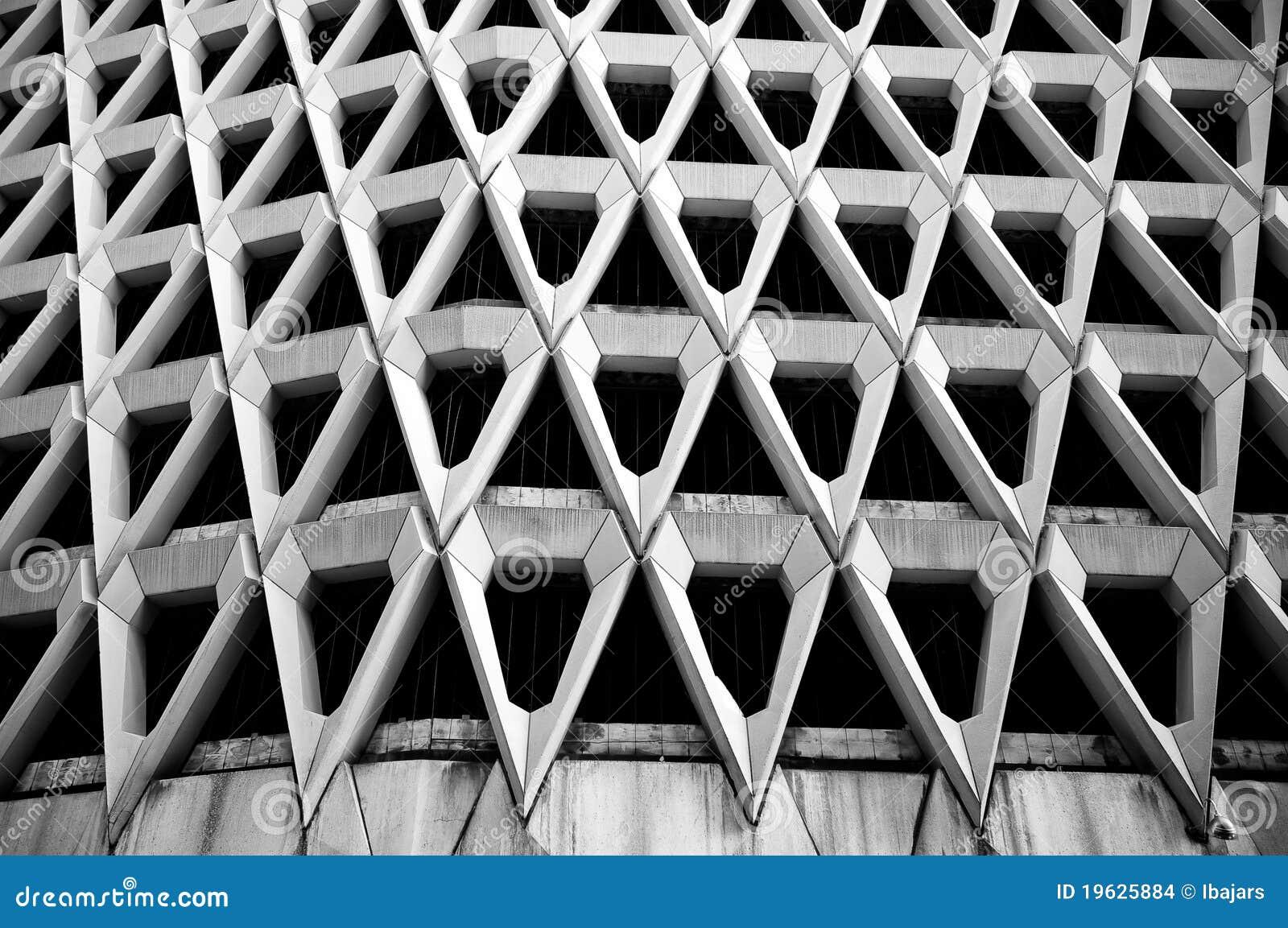 Triangoli in bianco e nero estratto di architettura for Programmi 3d architettura