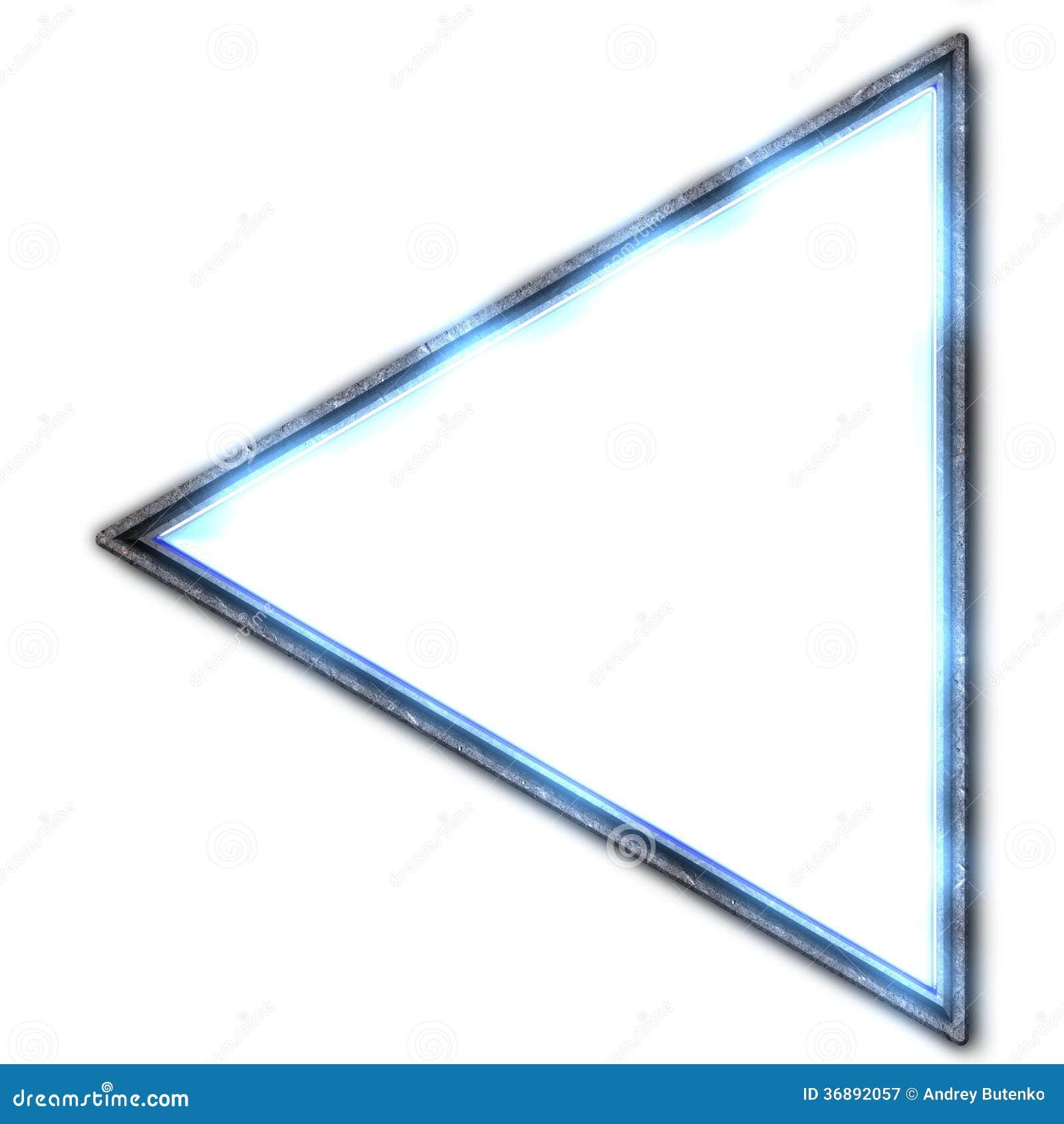 Download Triangolo illustrazione di stock. Illustrazione di simbolo - 36892057