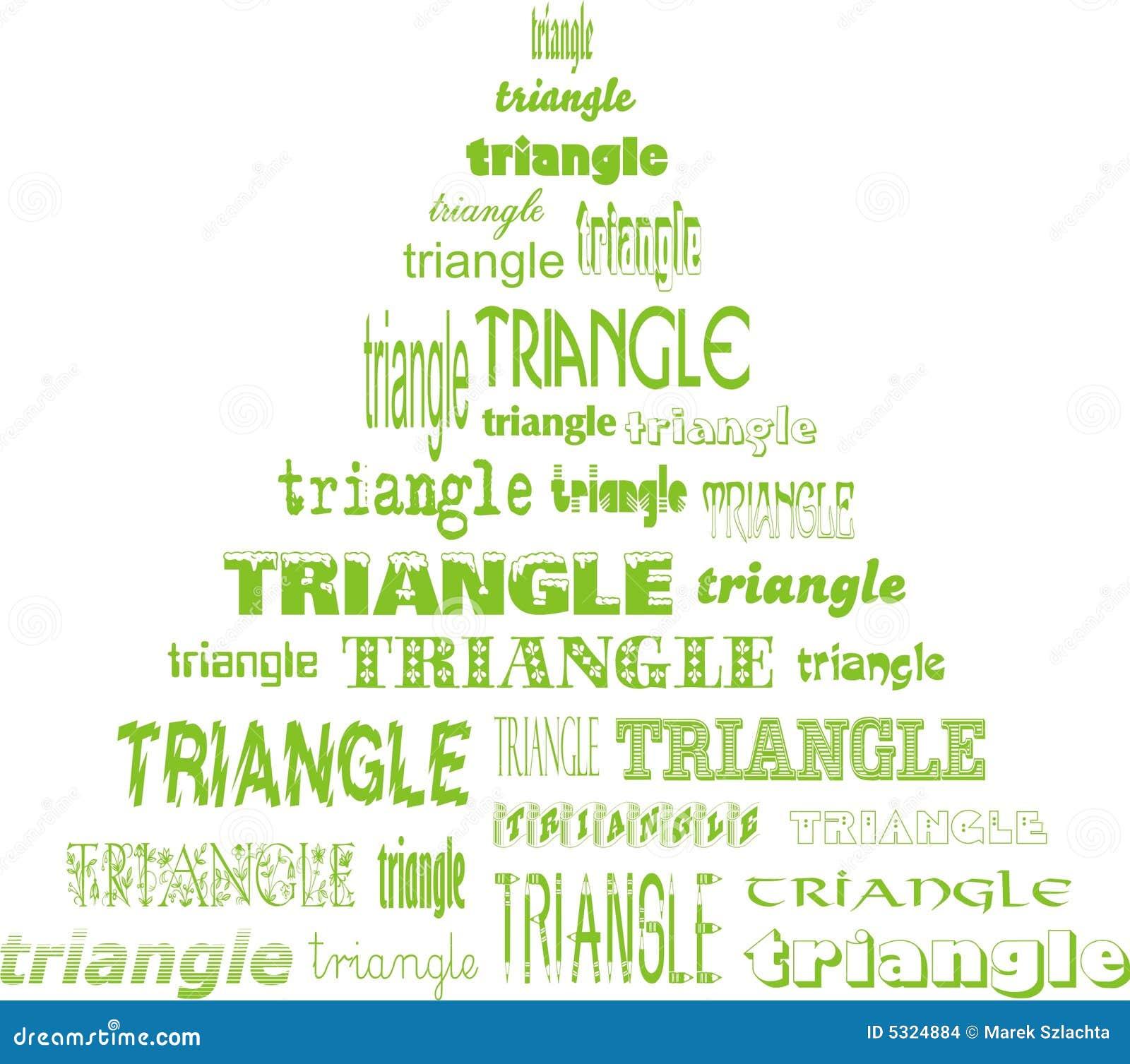Download Triangolo dei triangoli illustrazione vettoriale. Illustrazione di stile - 5324884