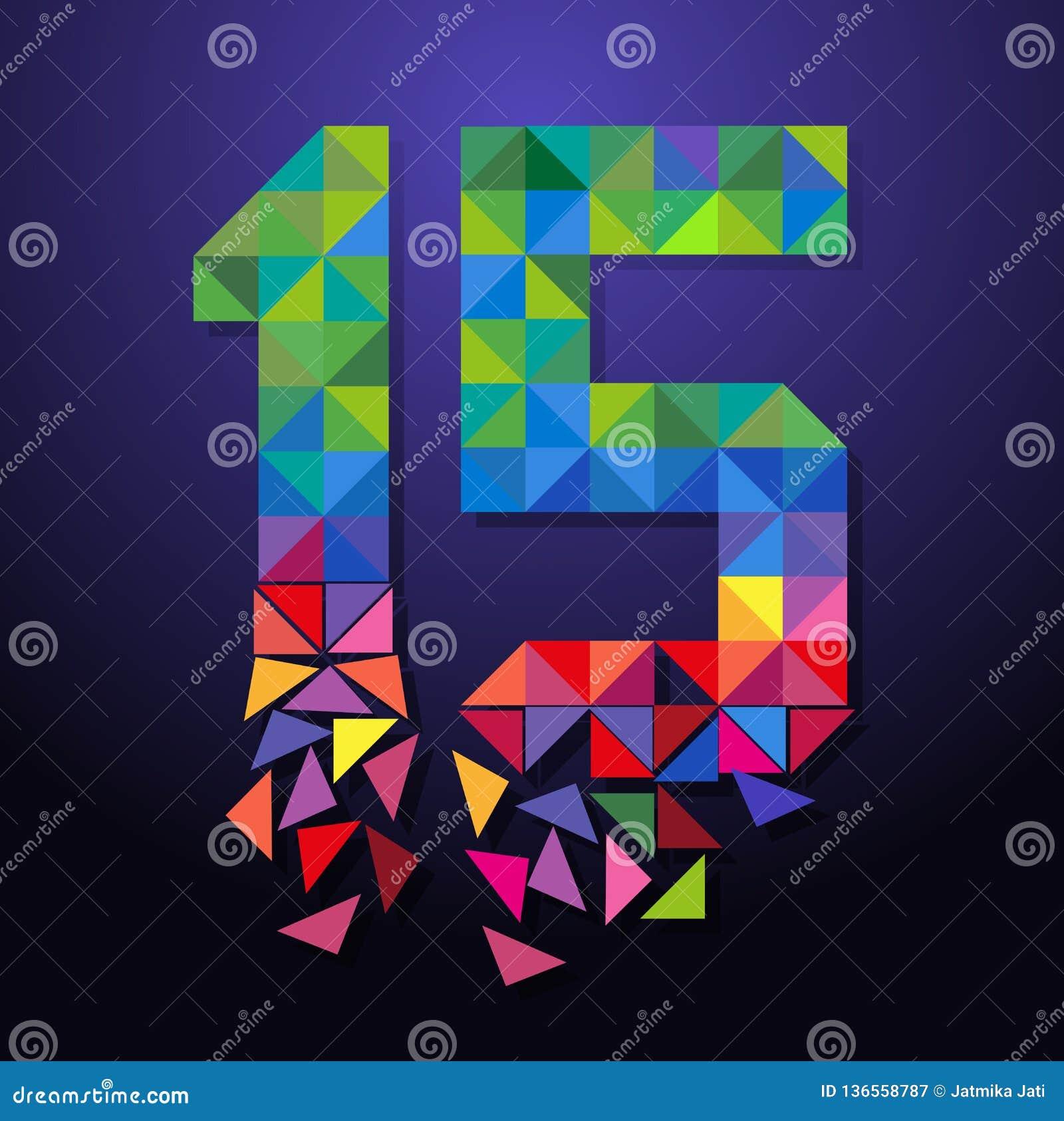 Triangolo rotto numero quindici