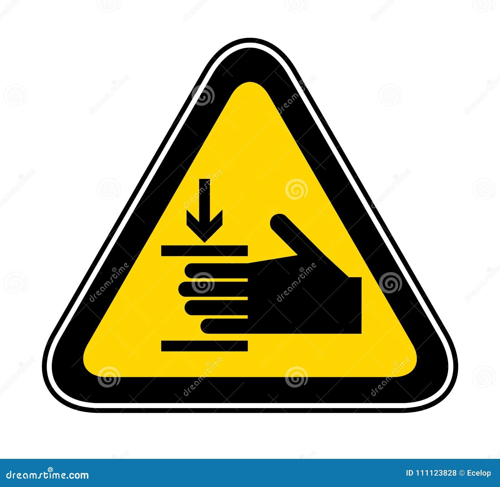Triangulärt varningsfarasymbol