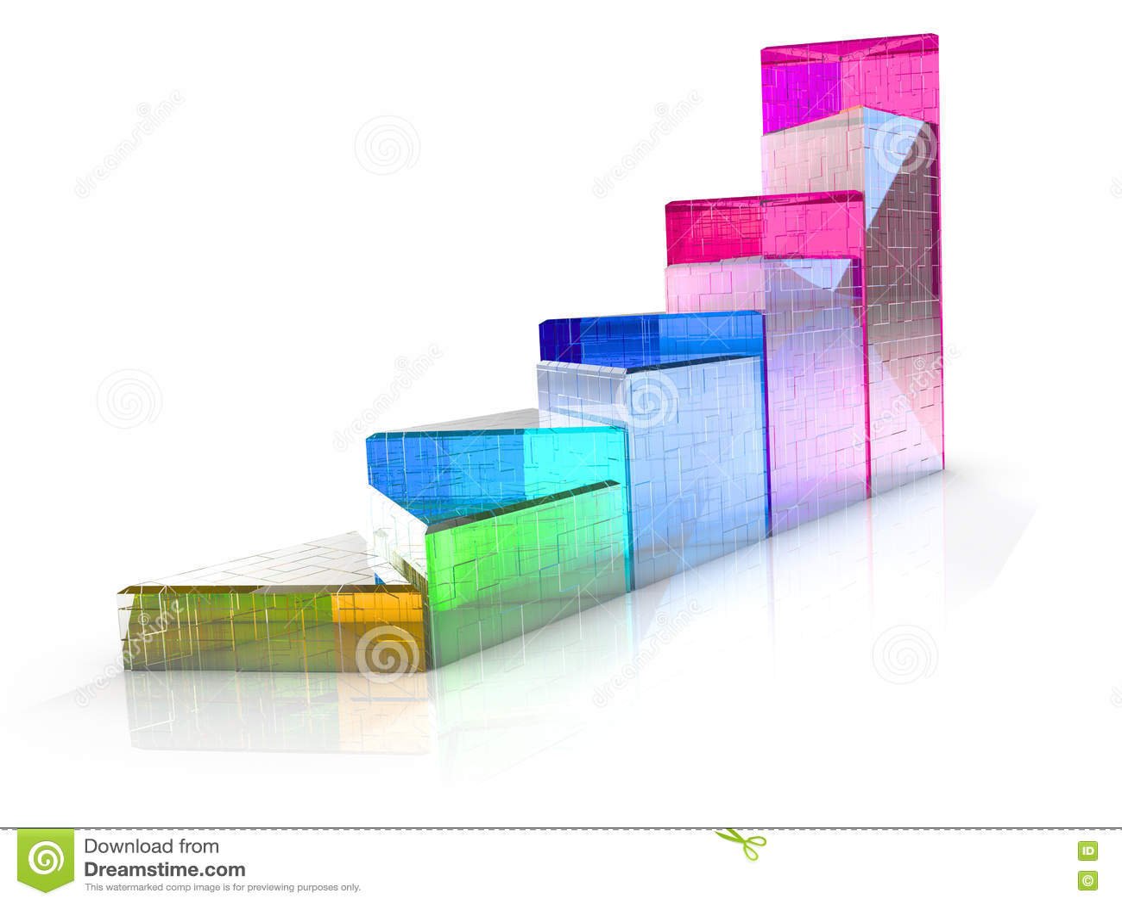 triangular diagram translucent colored items d illustration 76228552 triangular diagram of the translucent colored items stock