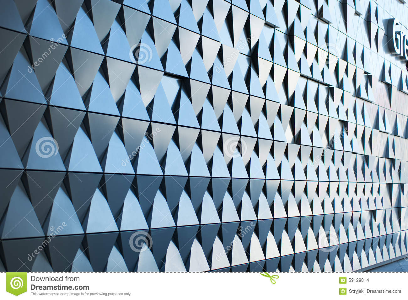 triangular shaped wall design modern architectural - Architectural Wall Design