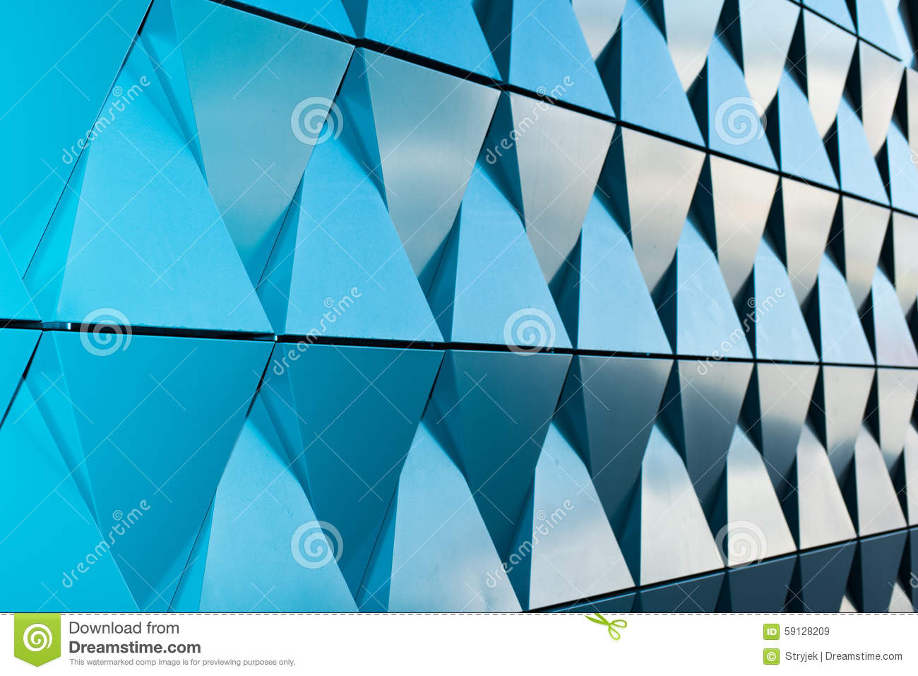 Triangular shaped wall design texture for Time saver details for exterior wall design