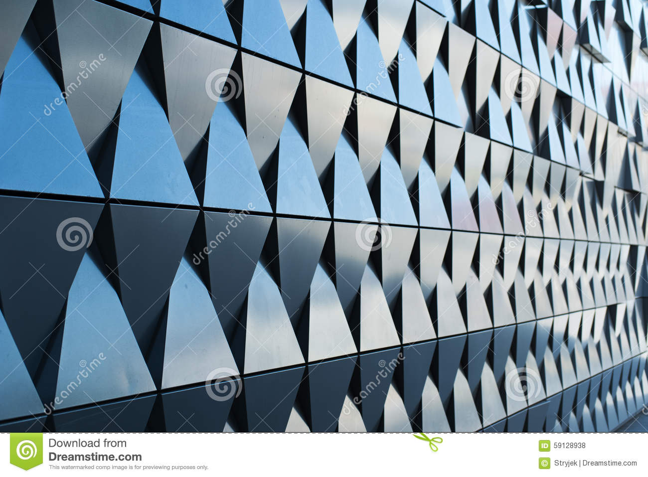 triangular shaped wall design stock photo image 59128814 - Architectural Wall Design