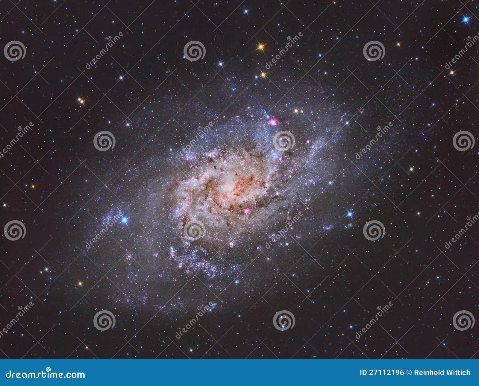 Triangulum星系M33