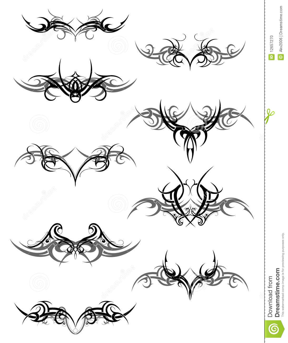 tribal art design stock photo image 12657270