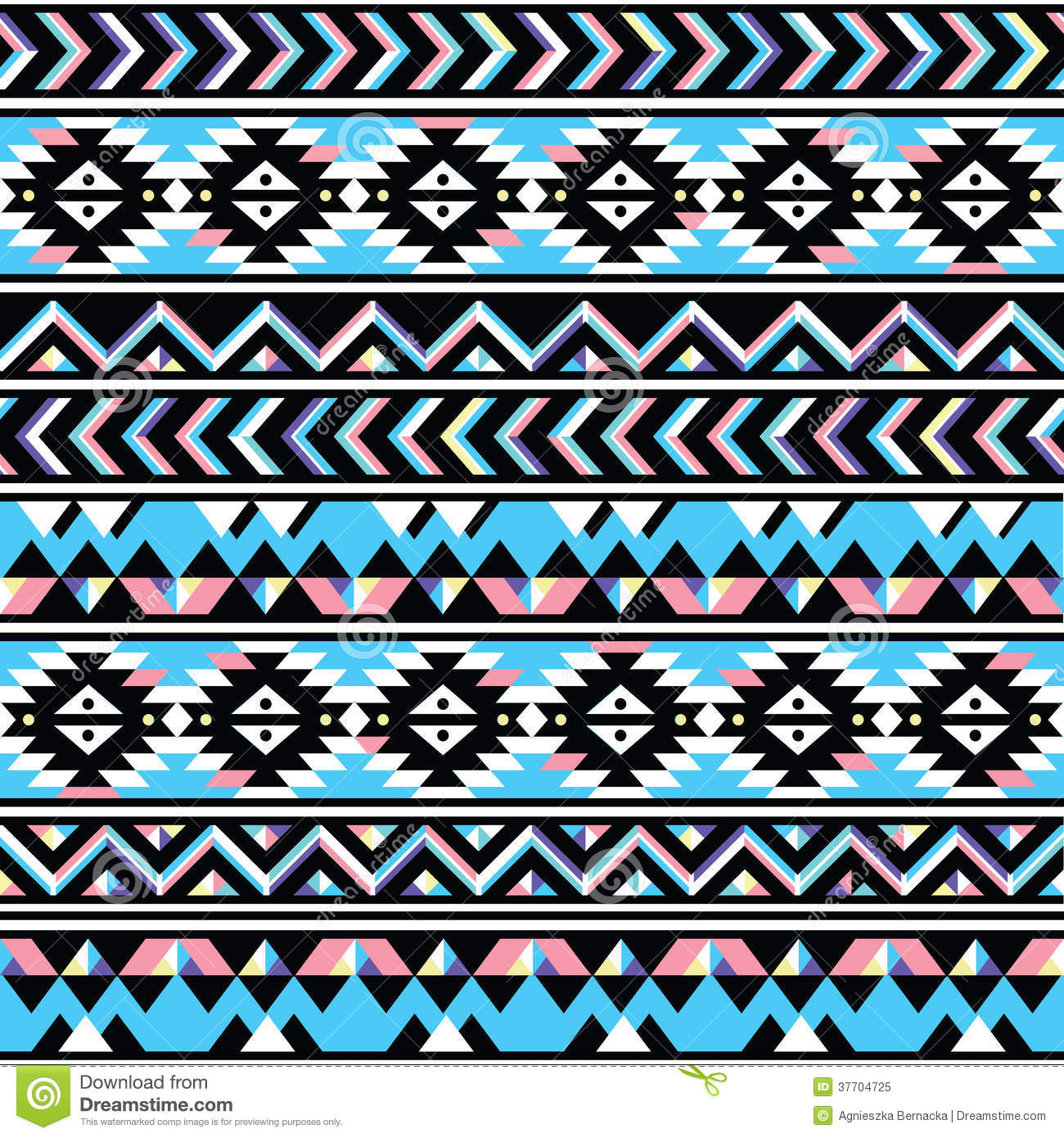 Tribal Aztec Seamless ... Pastel Aztec Pattern Wallpaper