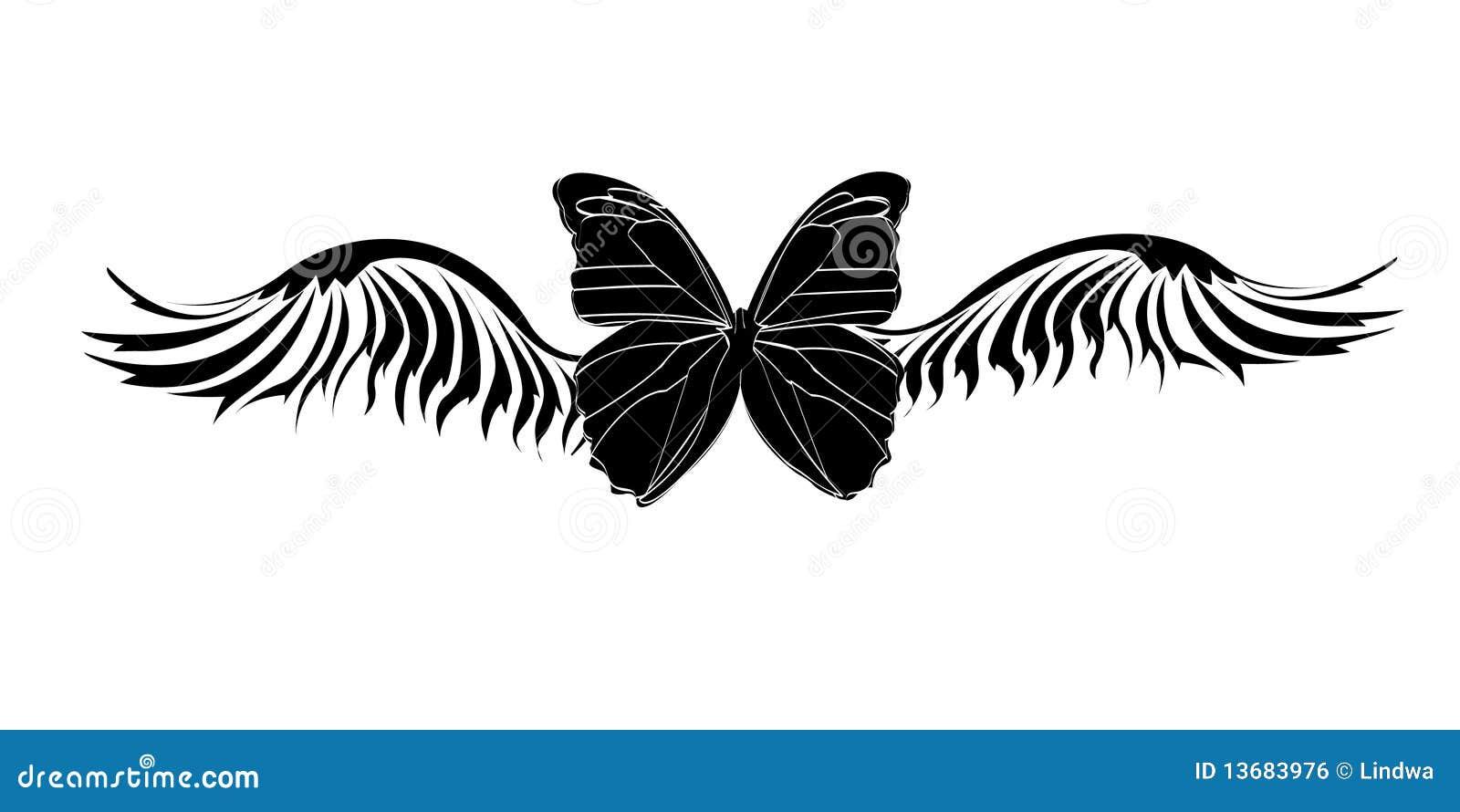 Tribal-Tattoos tribal-butterfly-tattoo-13683976