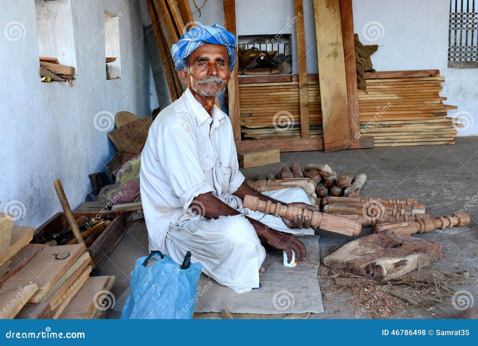 Tribal Carpenter Editorial Stock Photo Image 46786498