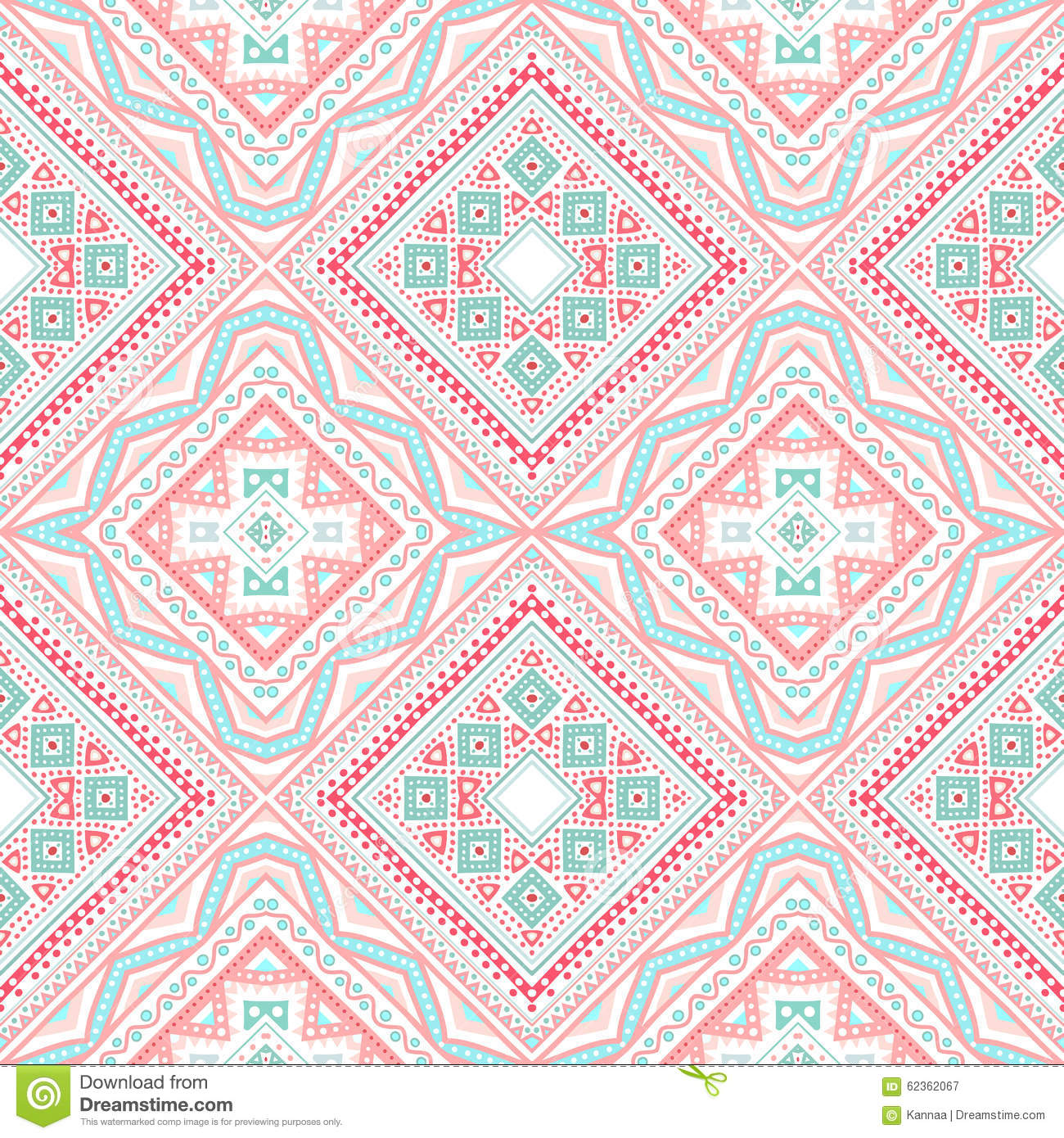 Tribal Ethnic Corner Pattern. Illustration Stock ...