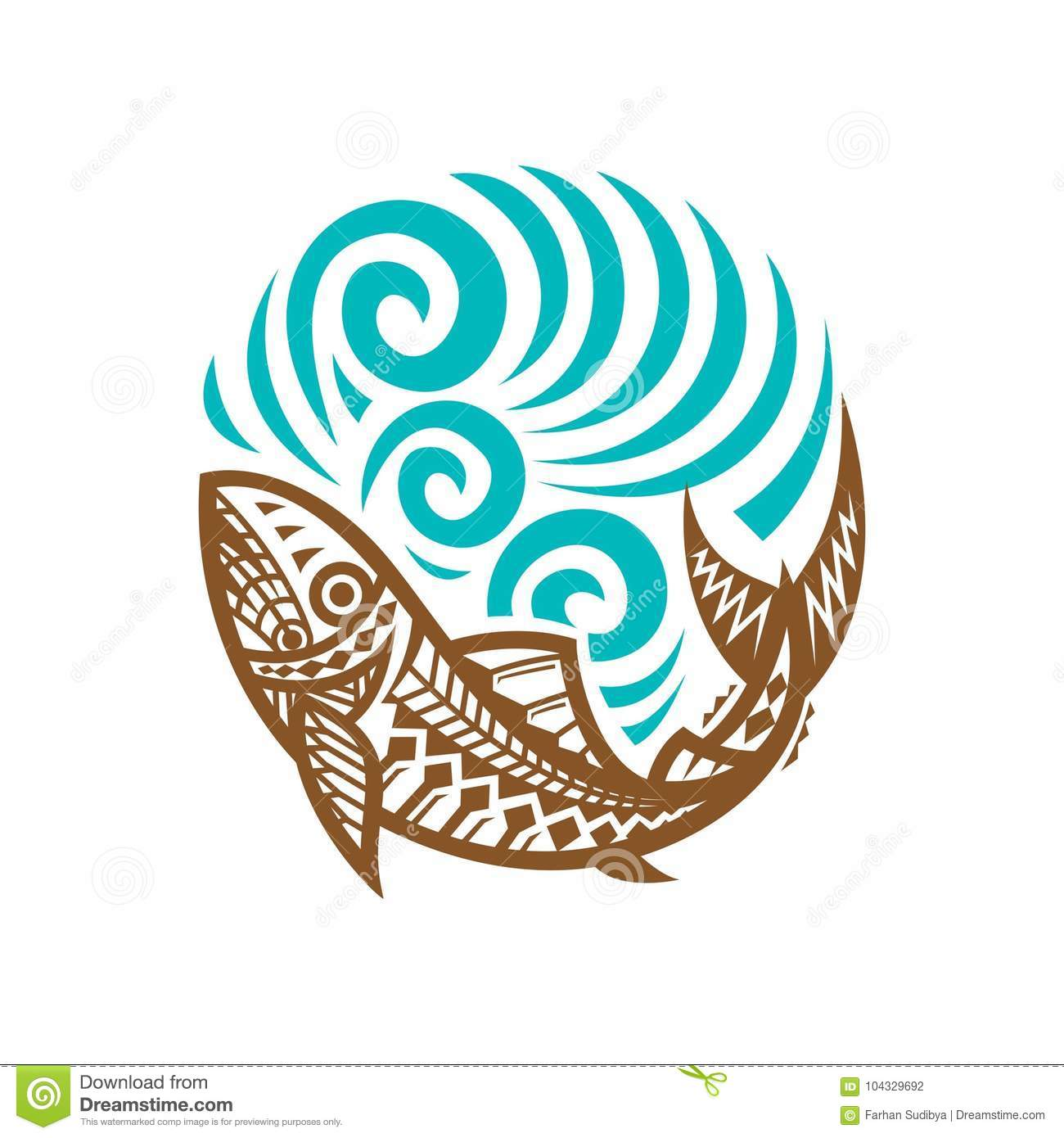 tribal wave design