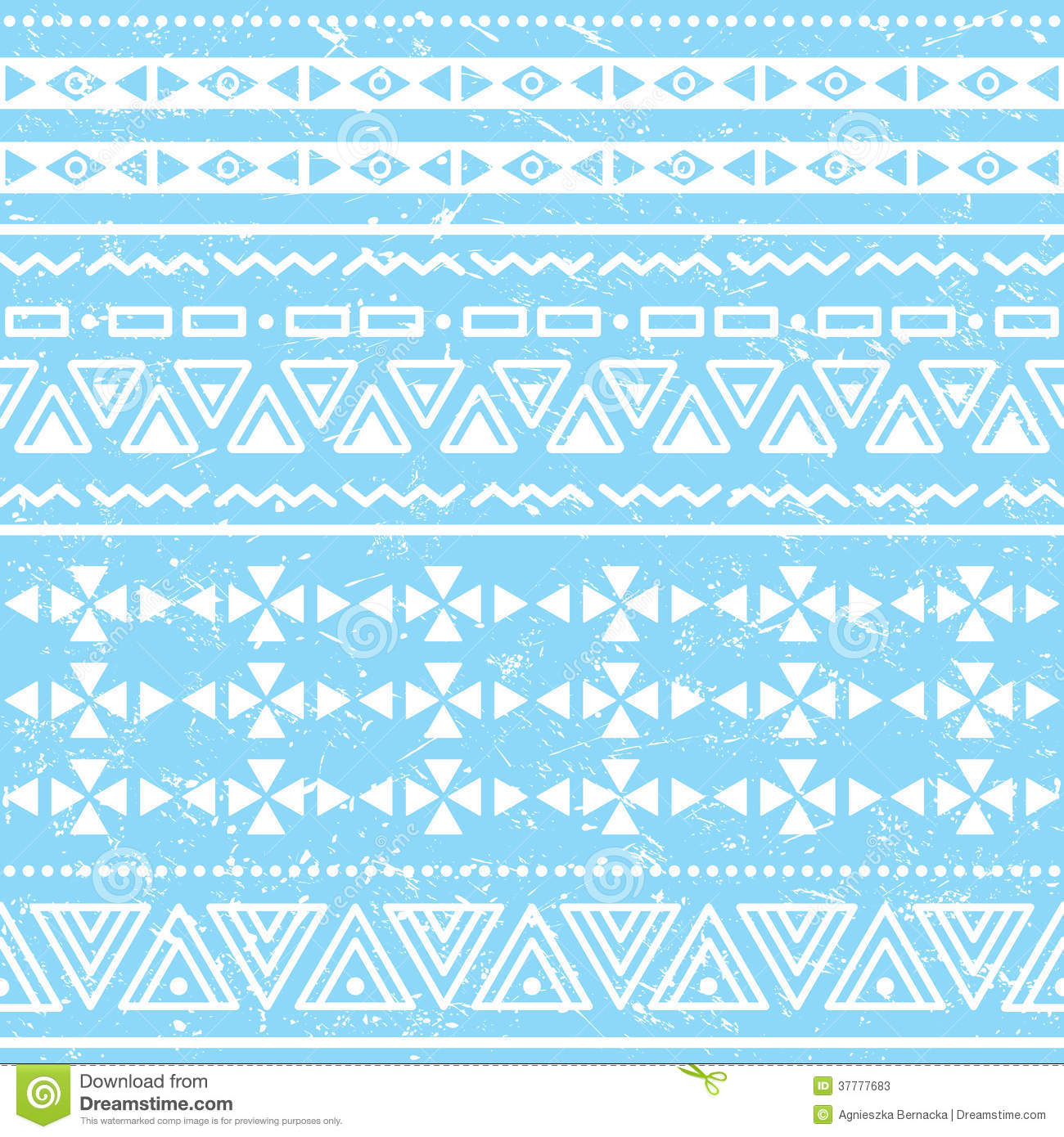 Blue tribal patterns tumblr background