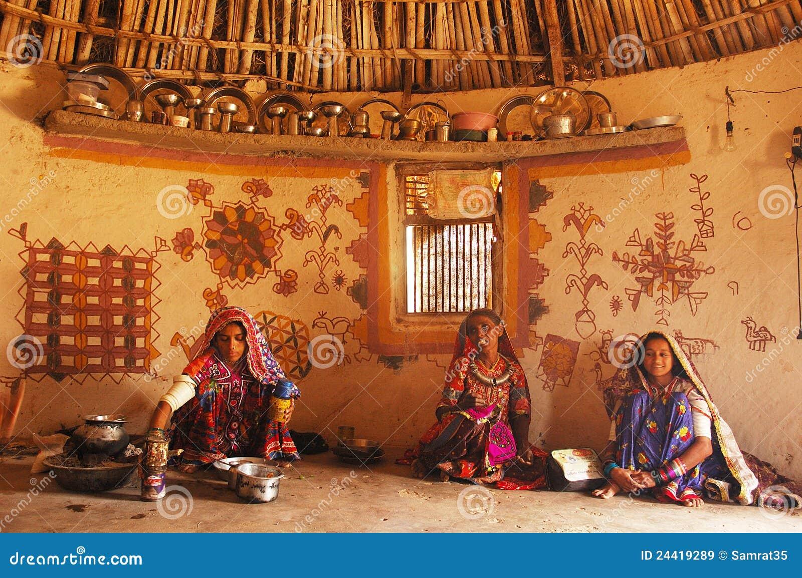 Tribal Life Editorial Stock Image Image 24419289