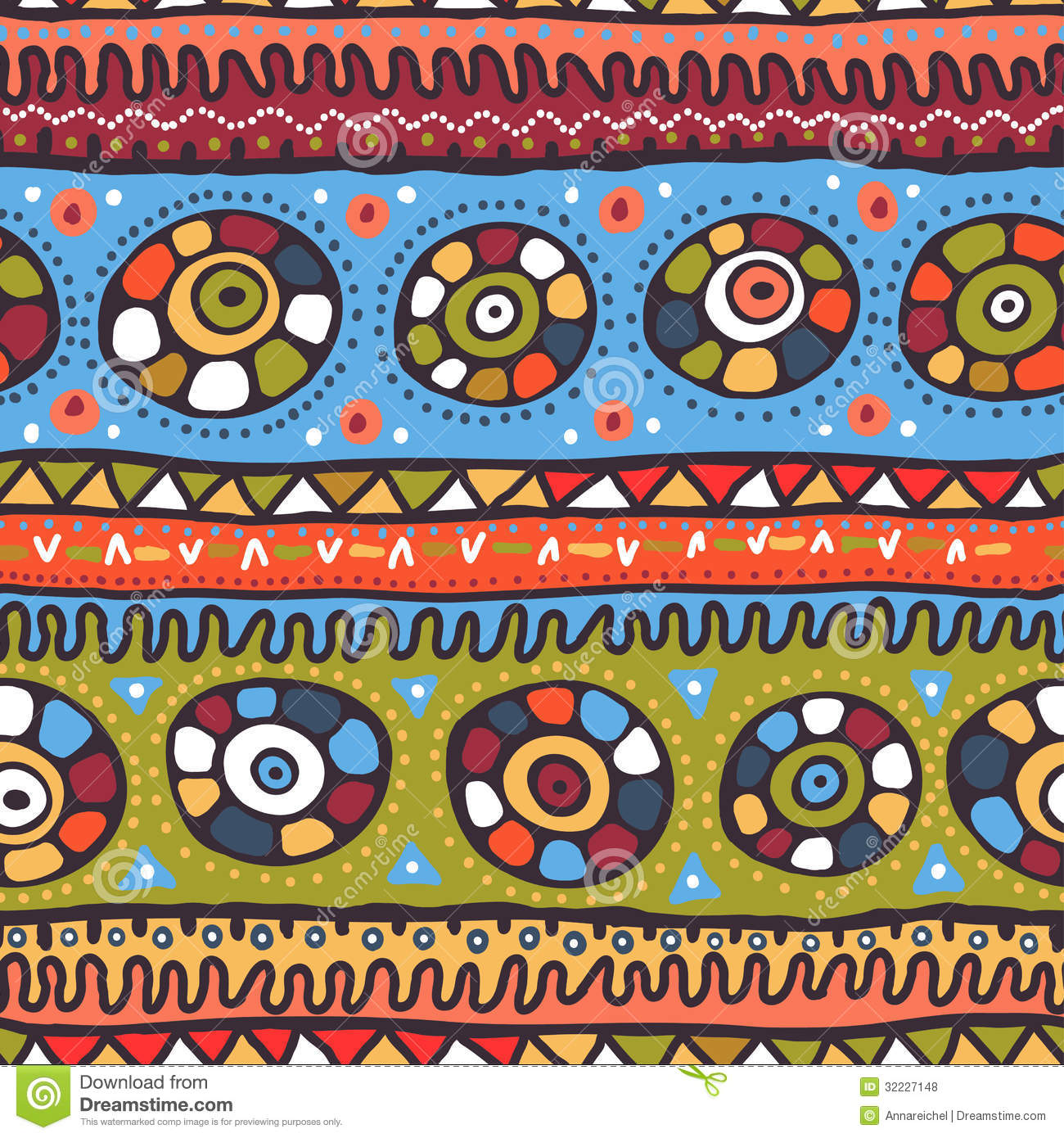 ... abstract seamless pattern in African style. Endless tribal background African Designs And Patterns