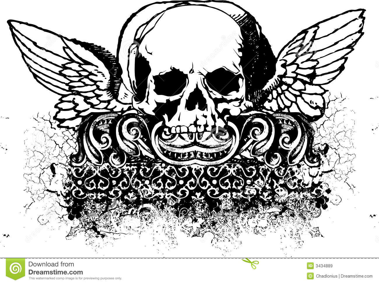Tribal Skull Illustration Royalty Free Stock Images ...