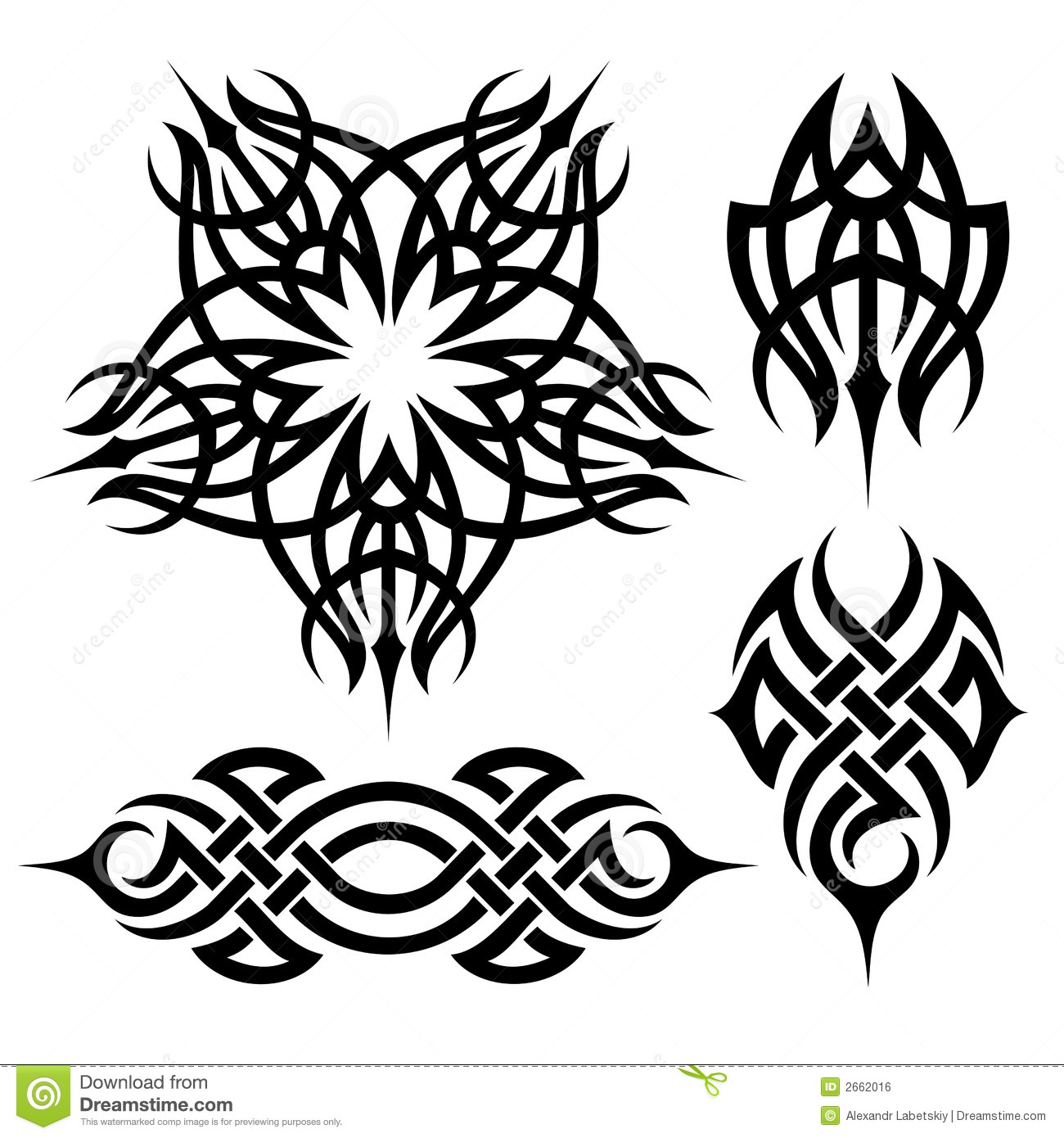 Tribal tattoo royalty free stock image image 2662016