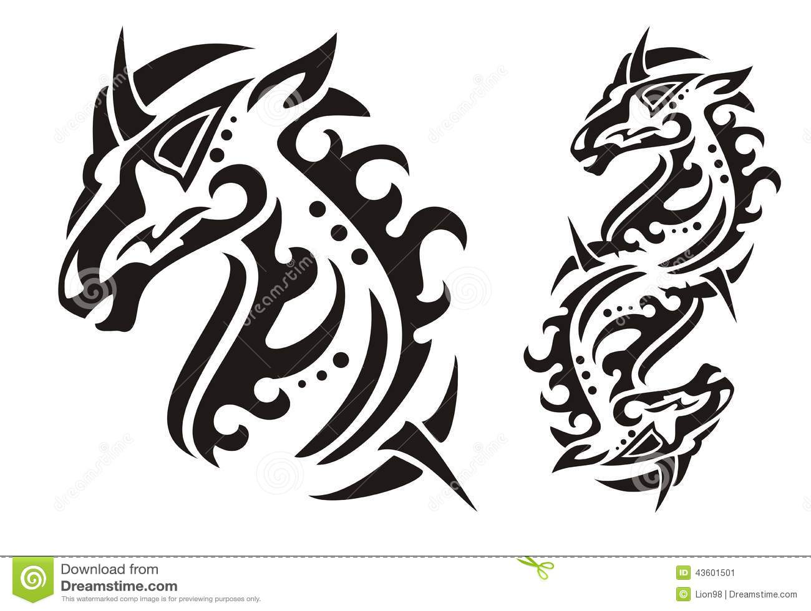 tribal unicorn head stock illustration illustration of magical 43601501. Black Bedroom Furniture Sets. Home Design Ideas