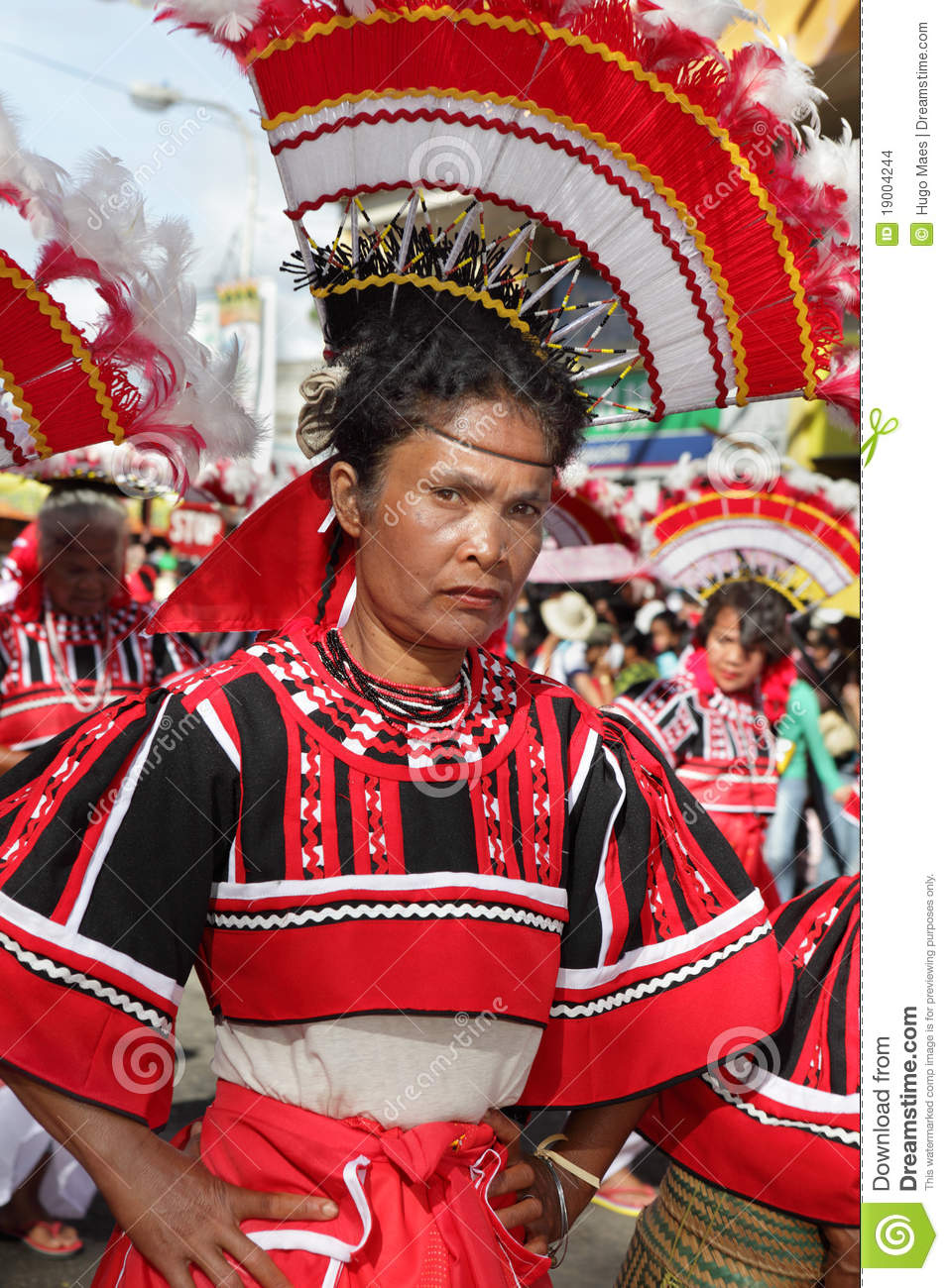 Tribal Woman Philippines Editorial Stock Image Image
