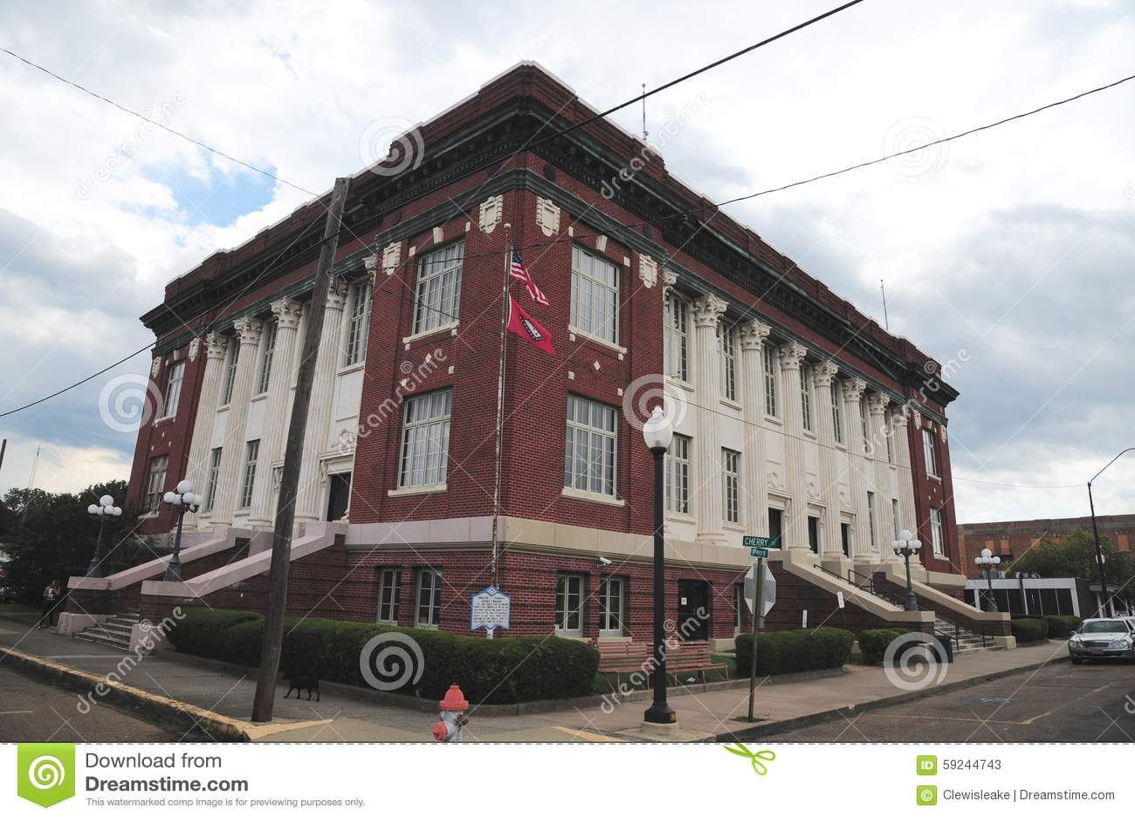 Tribunal de Phillips County en el Helena-oeste Helena, Arkansas