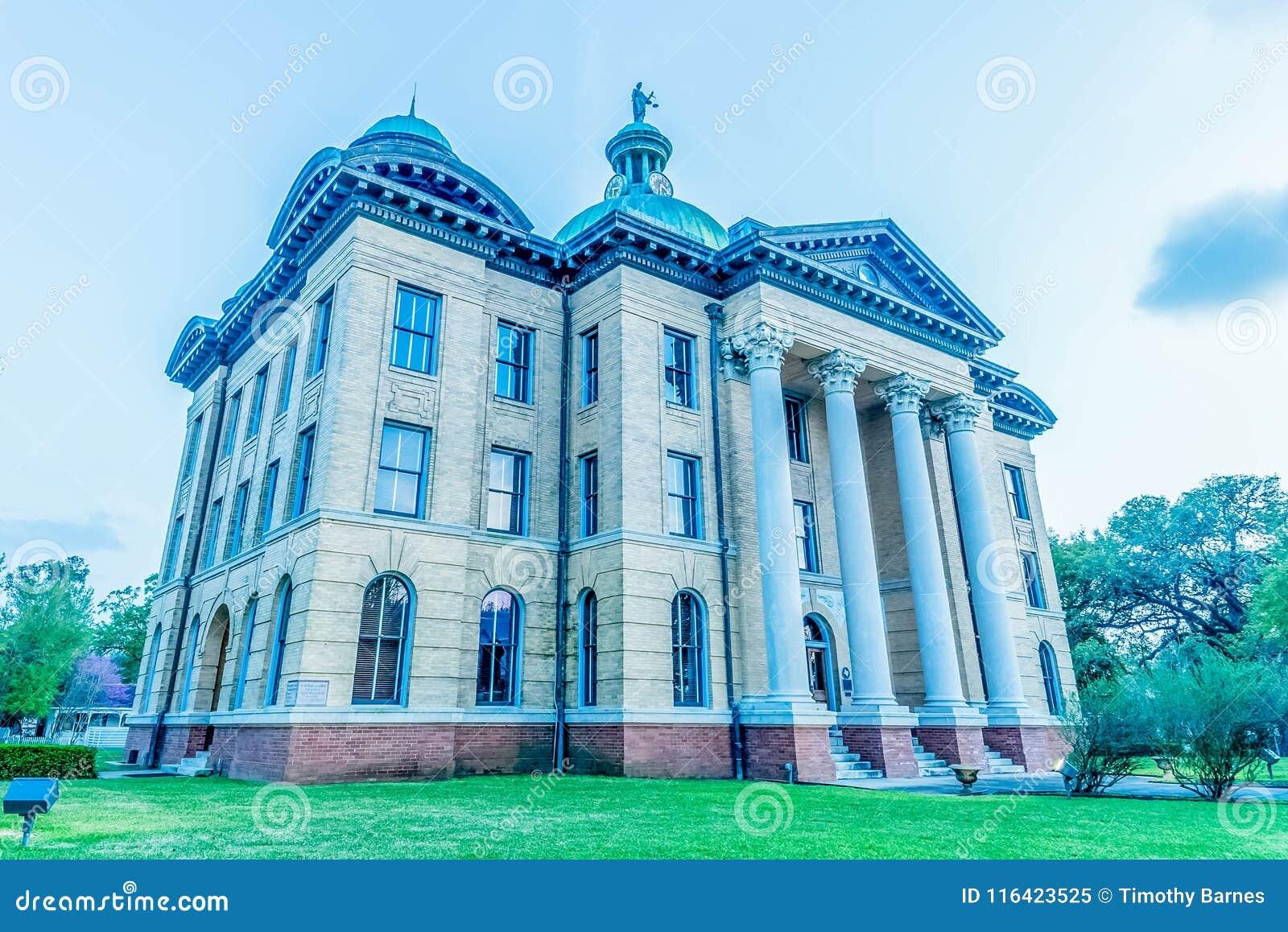 Tribunal del condado de Fort Bend en el ocaso