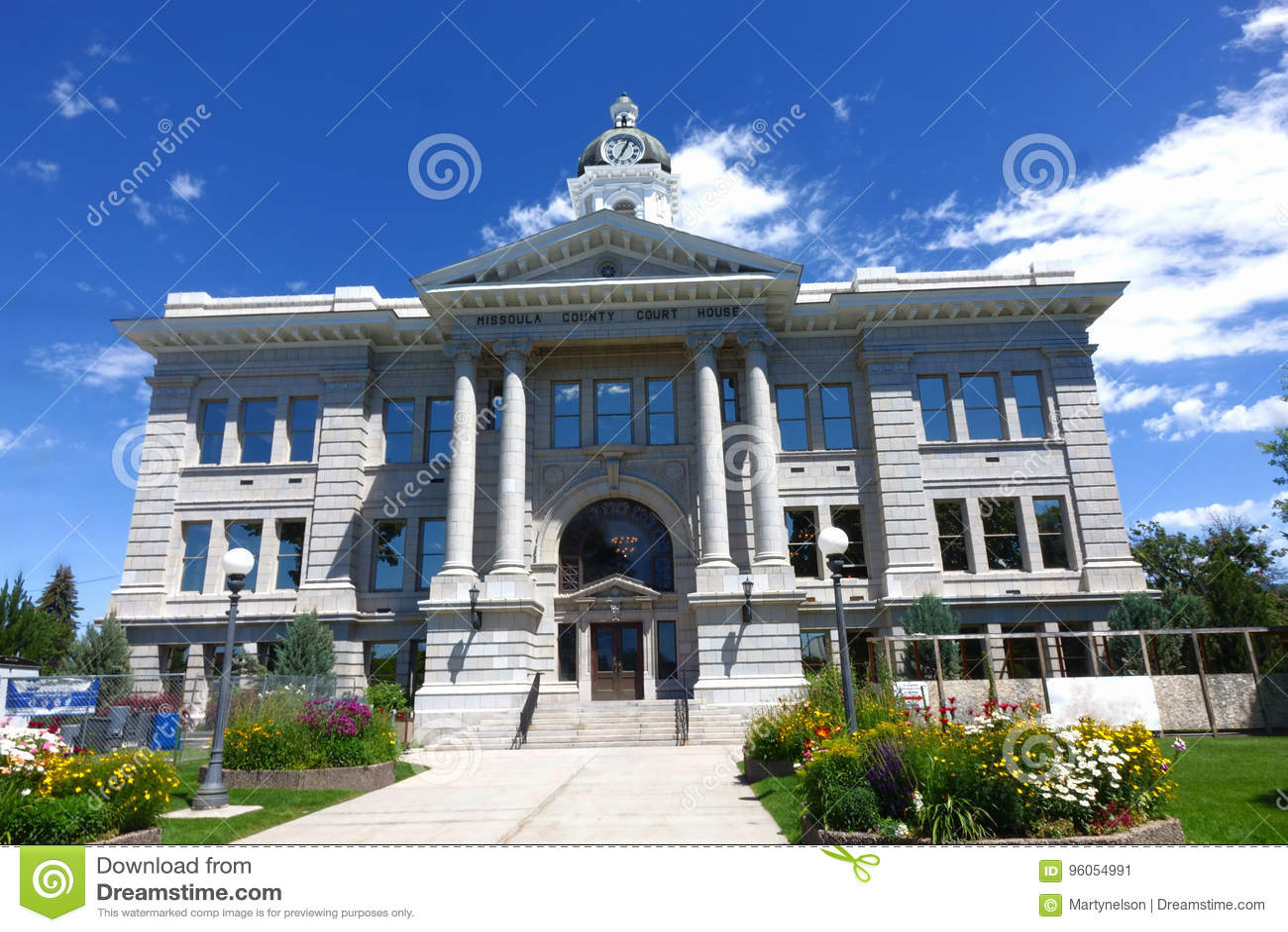 Tribunal du comté de Missoula - Montana