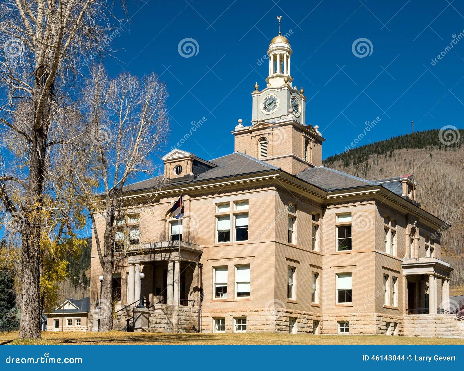 Tribunal du comté, Silverton, le Colorado
