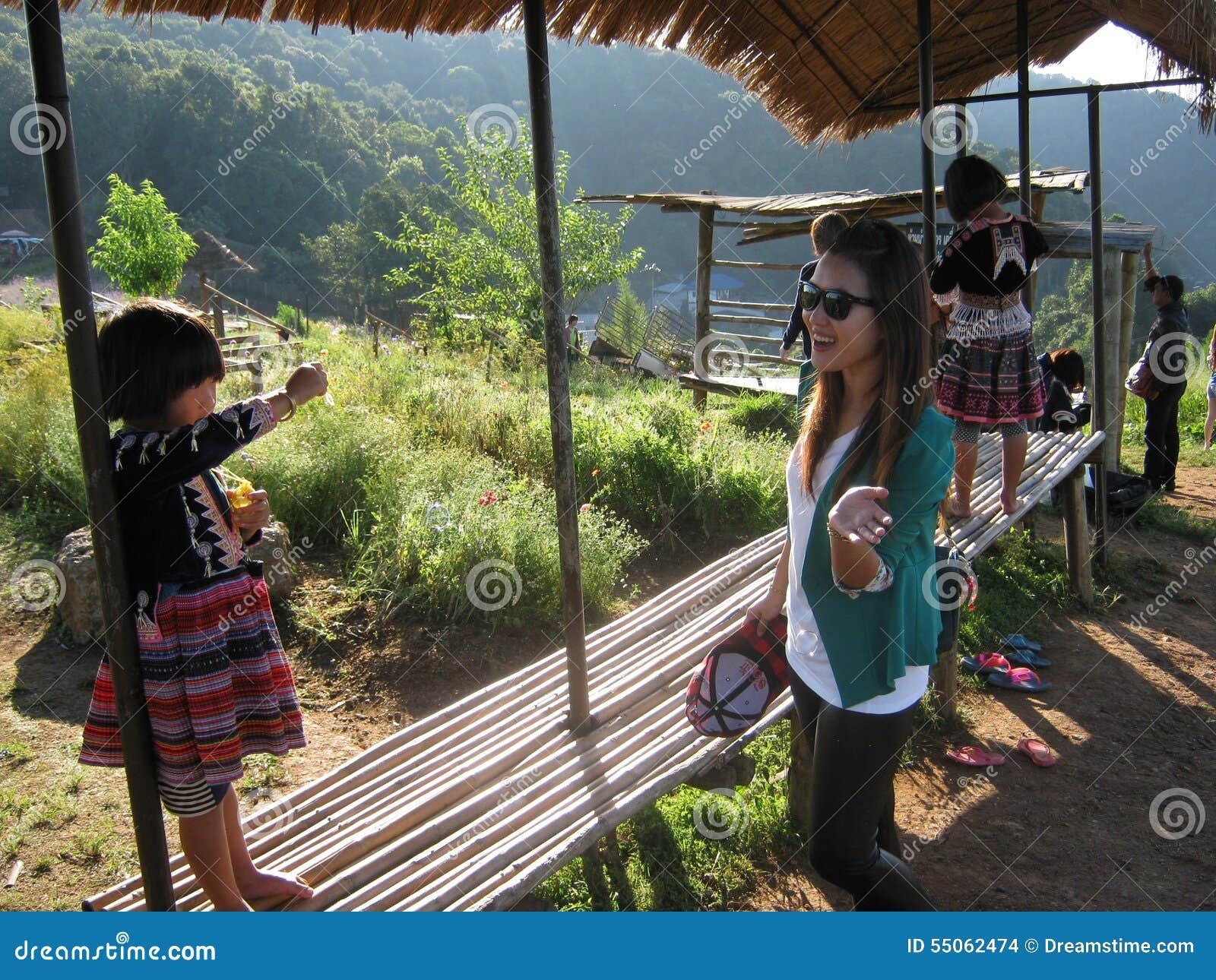 Tribus de colline de la Thaïlande